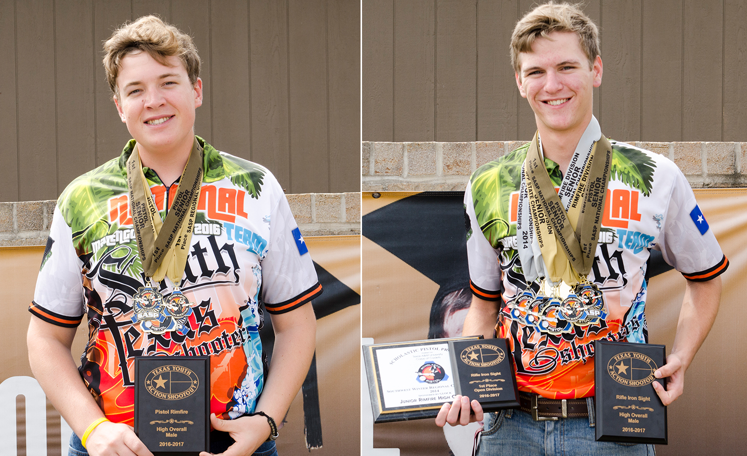 ECHS students nationally recognized in recreational shooting program