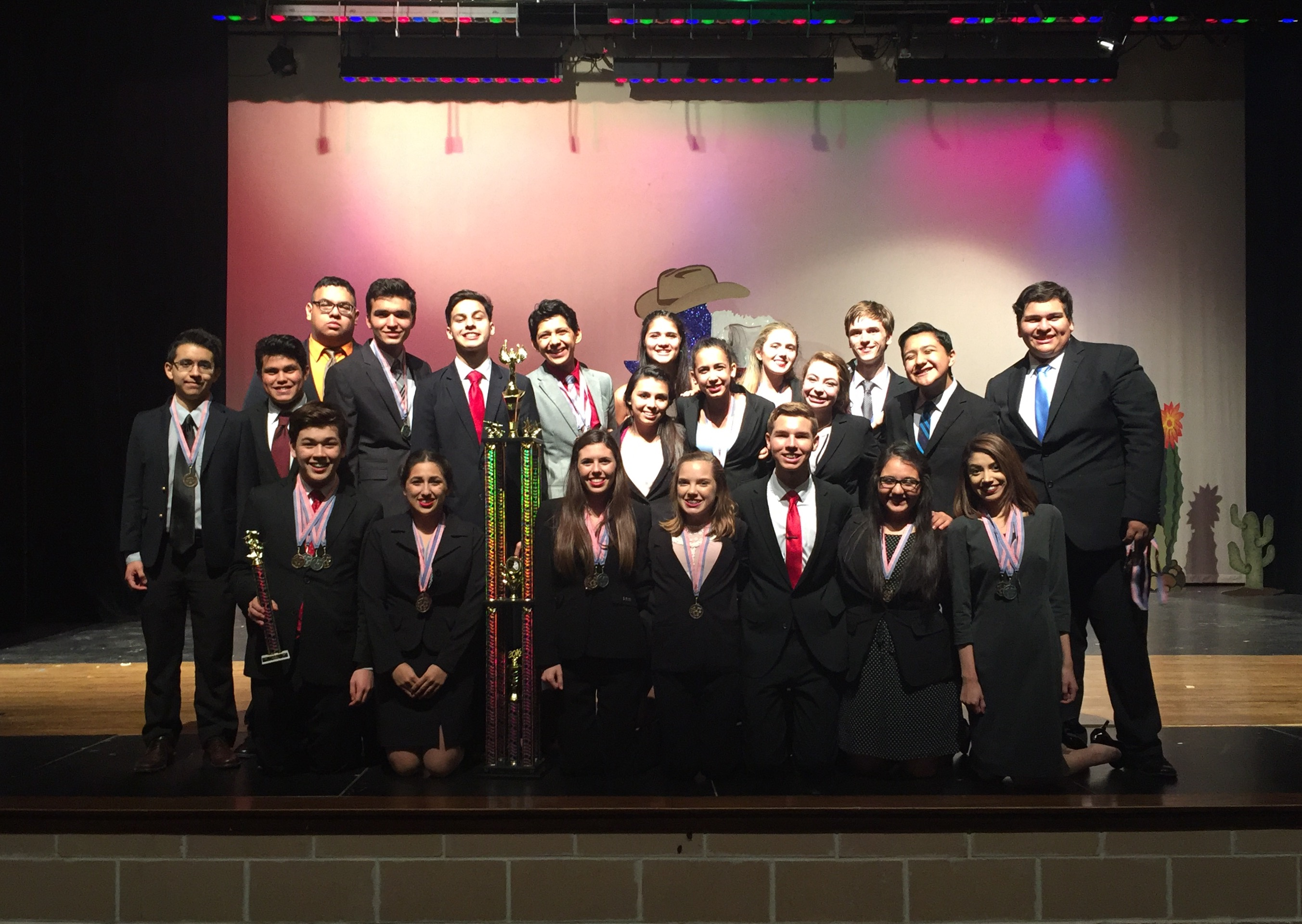 Harlingen South SDD Team wins third 1st place sweepstakes at TFA tournament