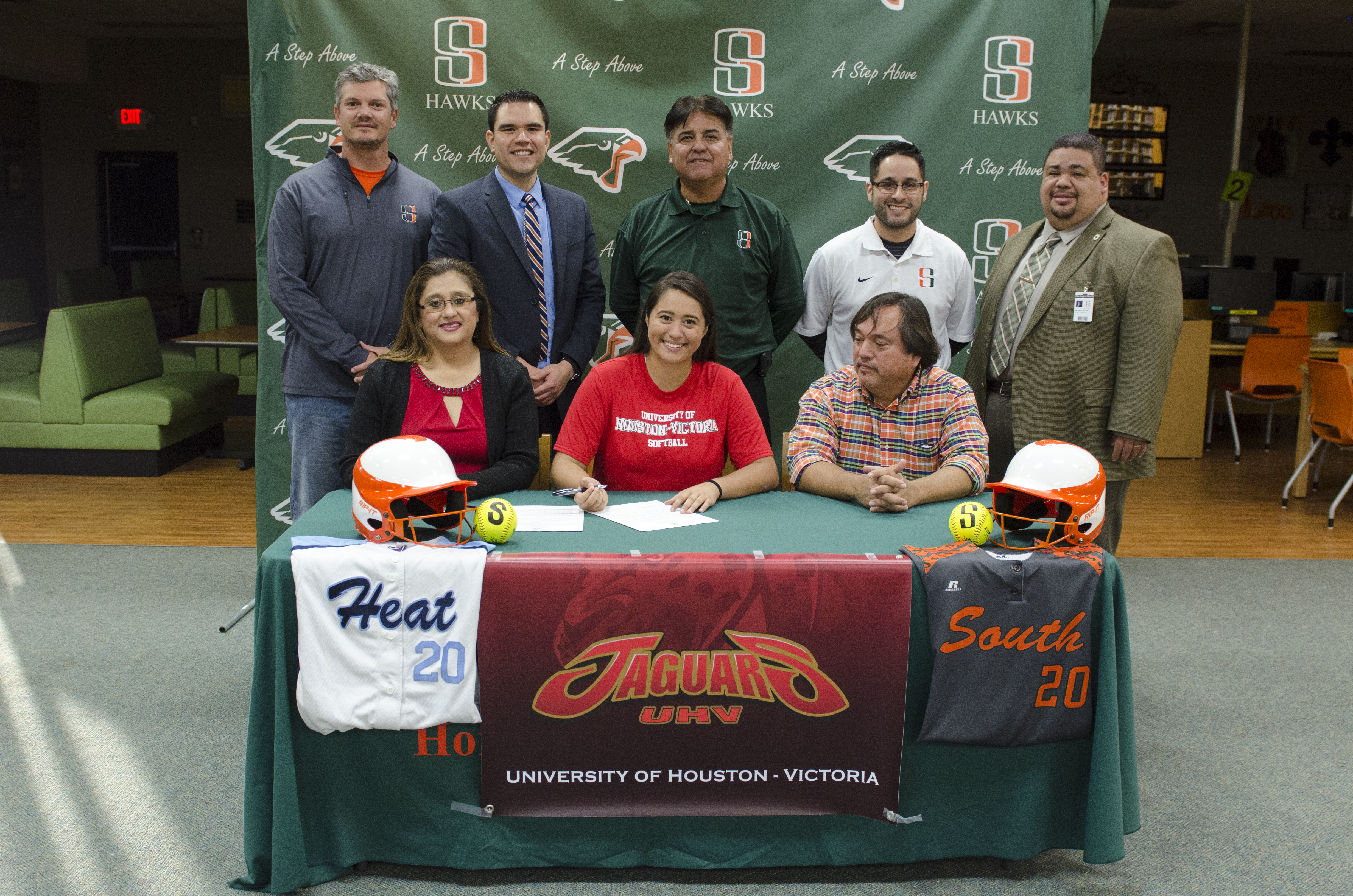 Hawk athlete signs to play softball at the University of the Houston-Victoria