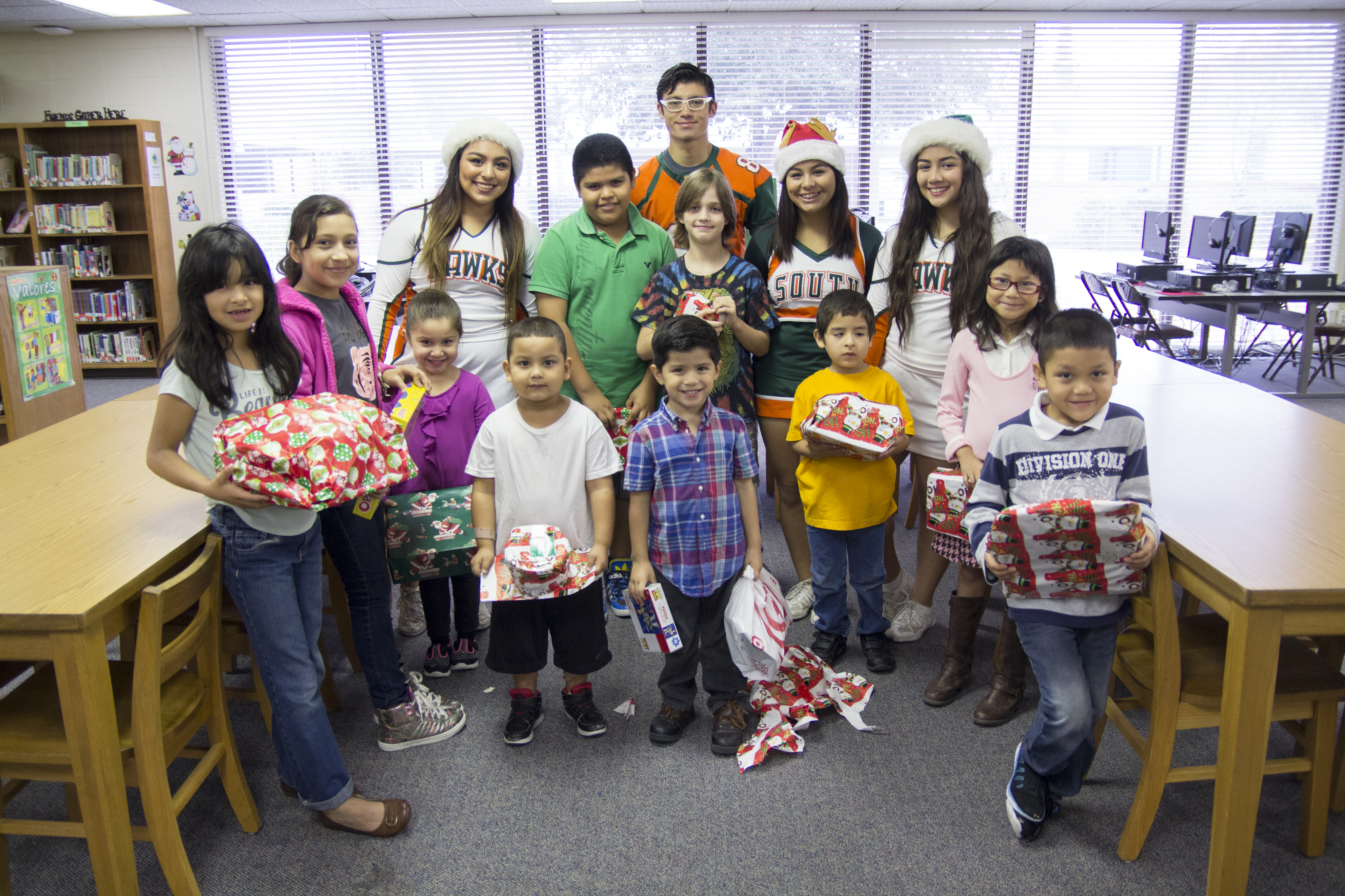 South students spread holiday cheer with Operation Santa
