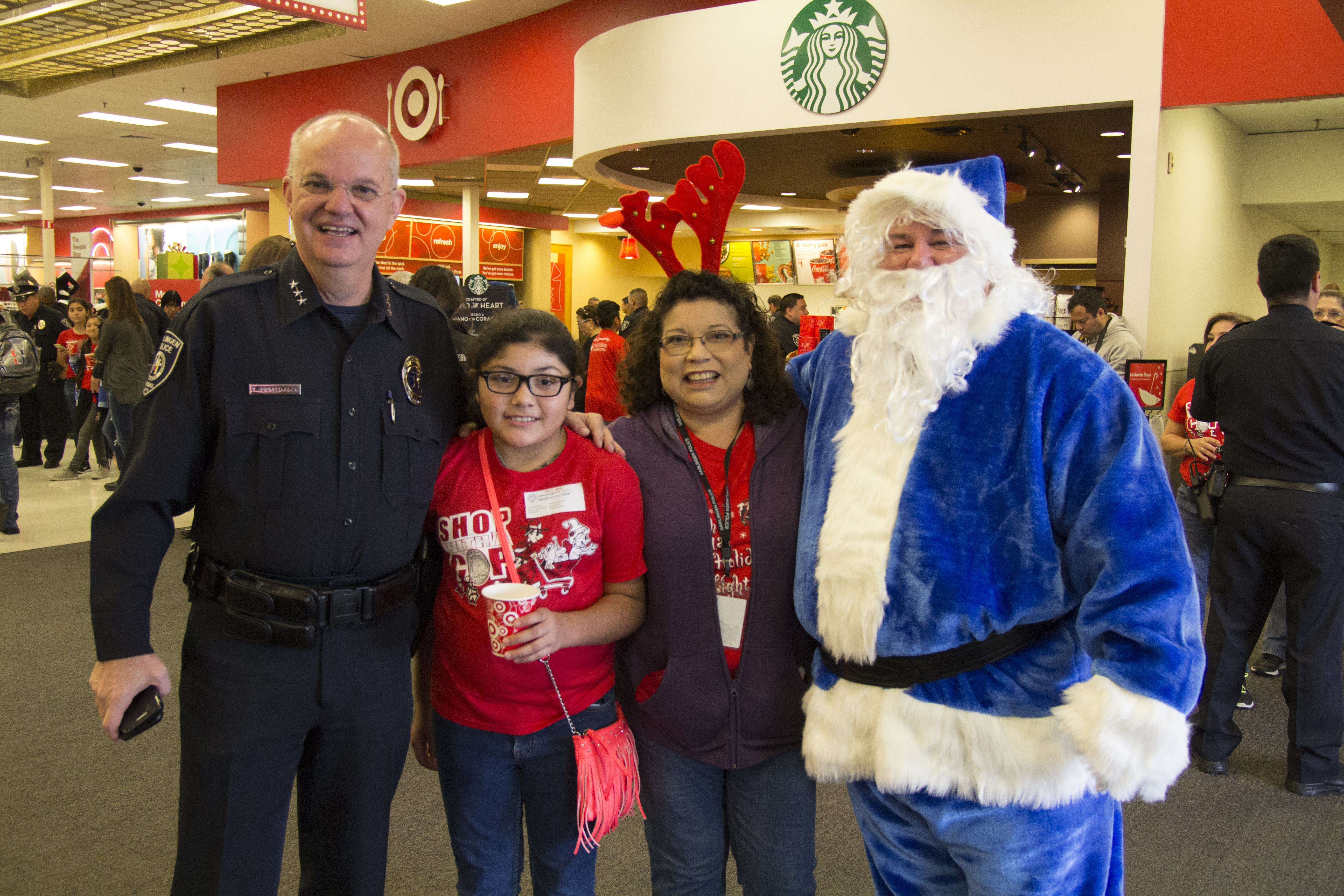 HPD shares the joy of the season through Shop with a Cop event