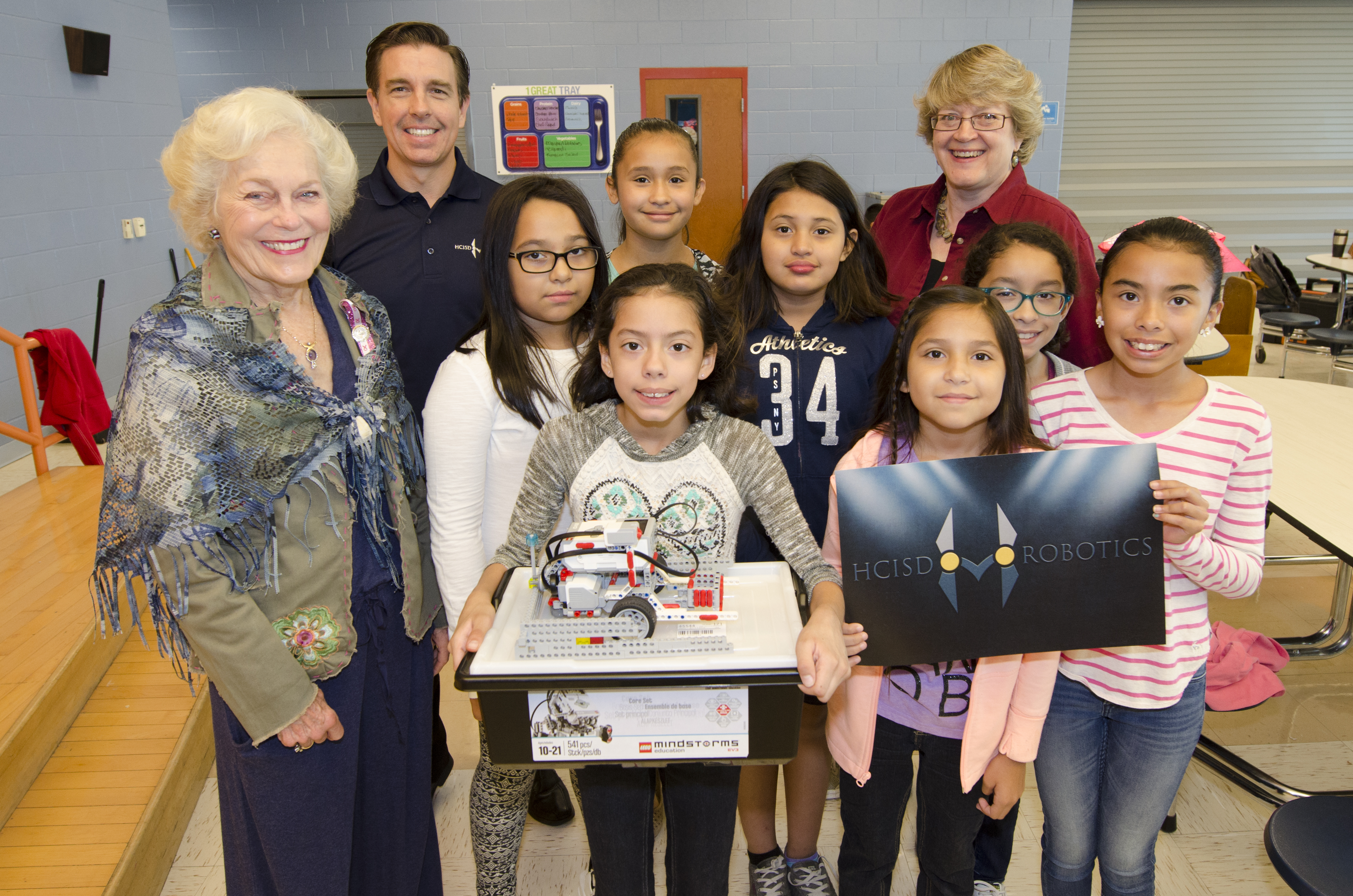 Nearly $10,000 awarded in grants to help boost HCISD robotics teams
