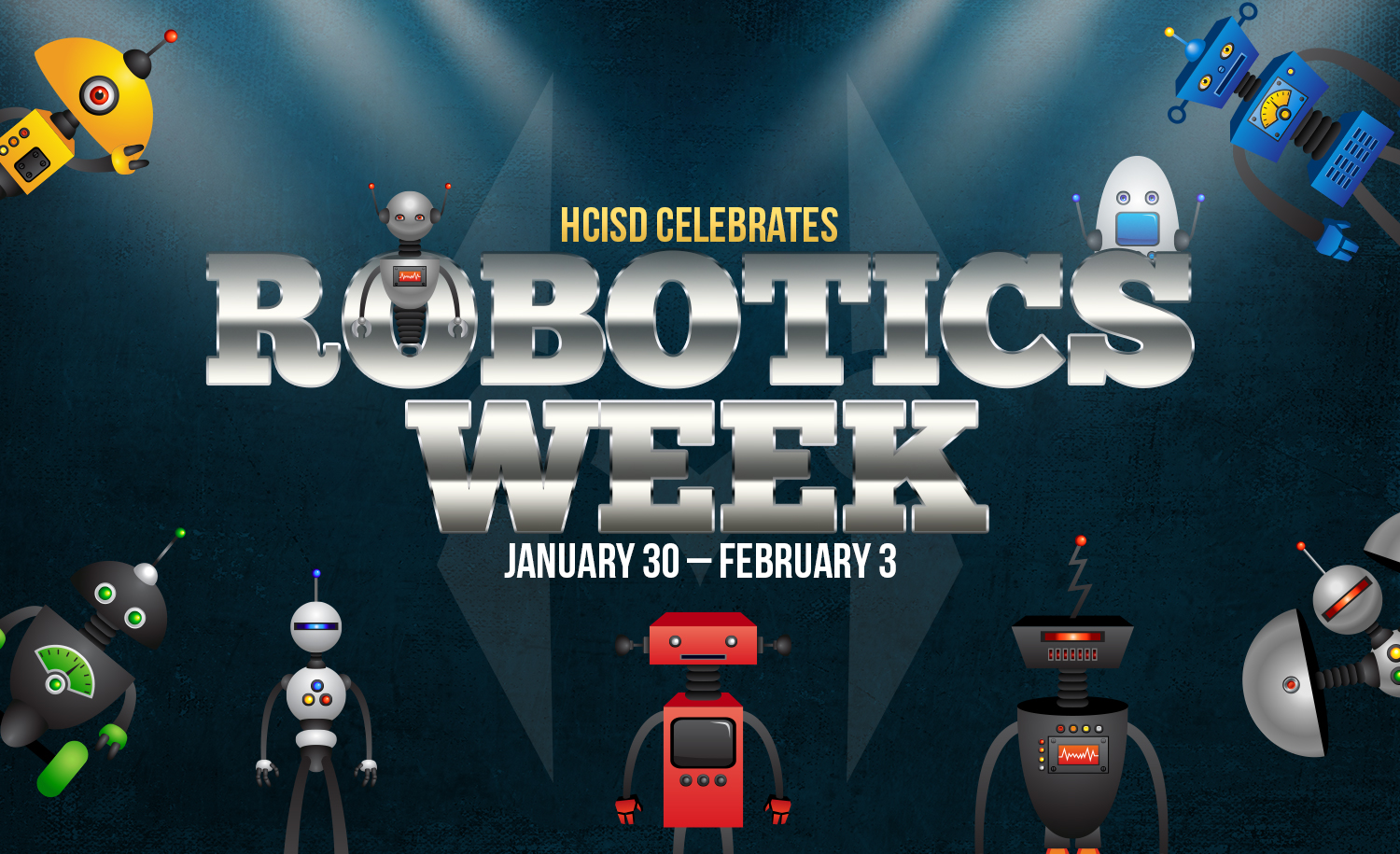 HCISD celebrates Robotics Week