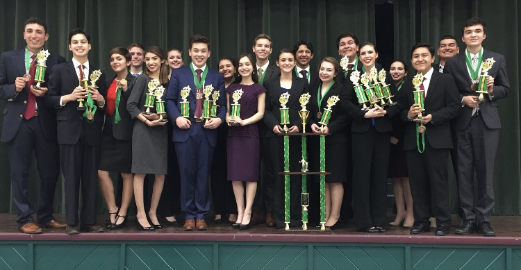 Harlingen South SDD takes numerous awards at TFA State Qualifier
