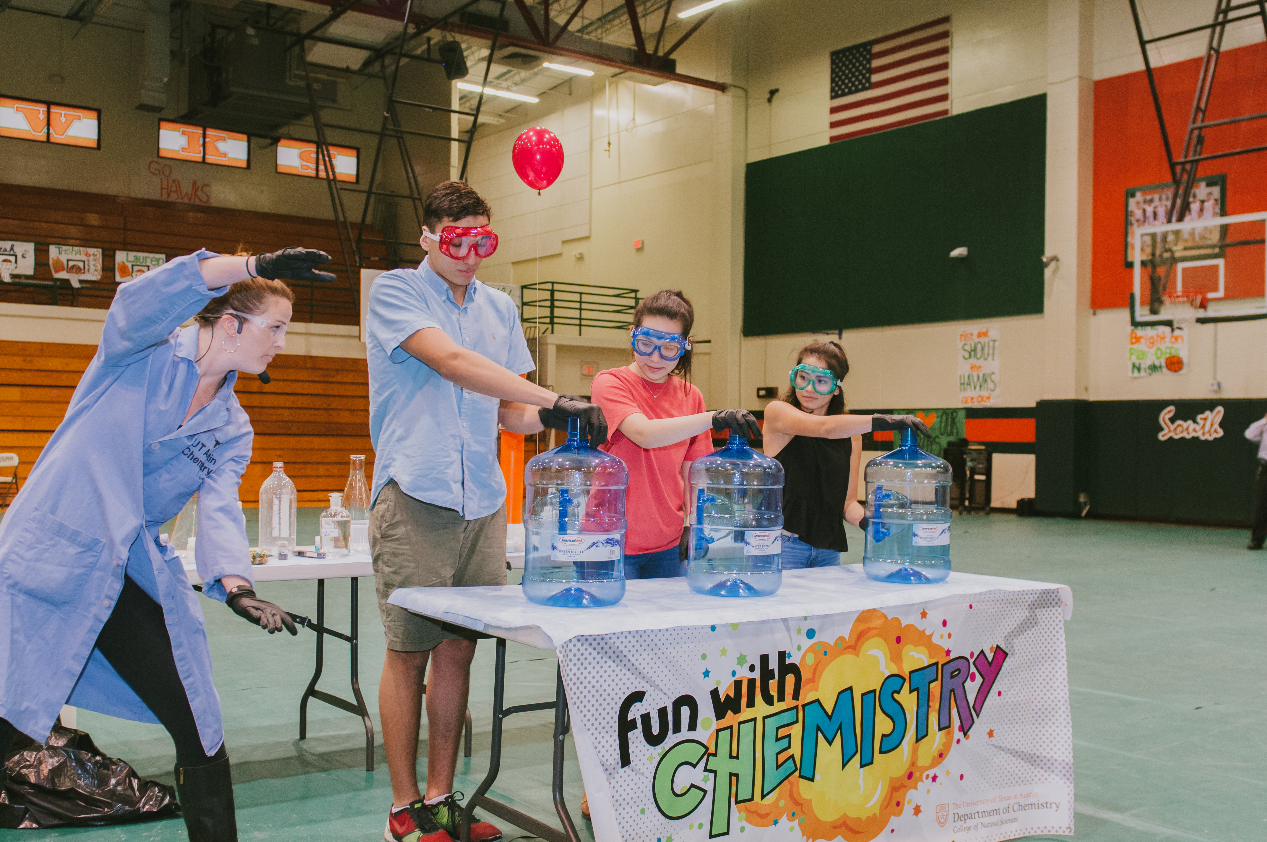 UT Austin brings Fun with Chemistry to HCISD