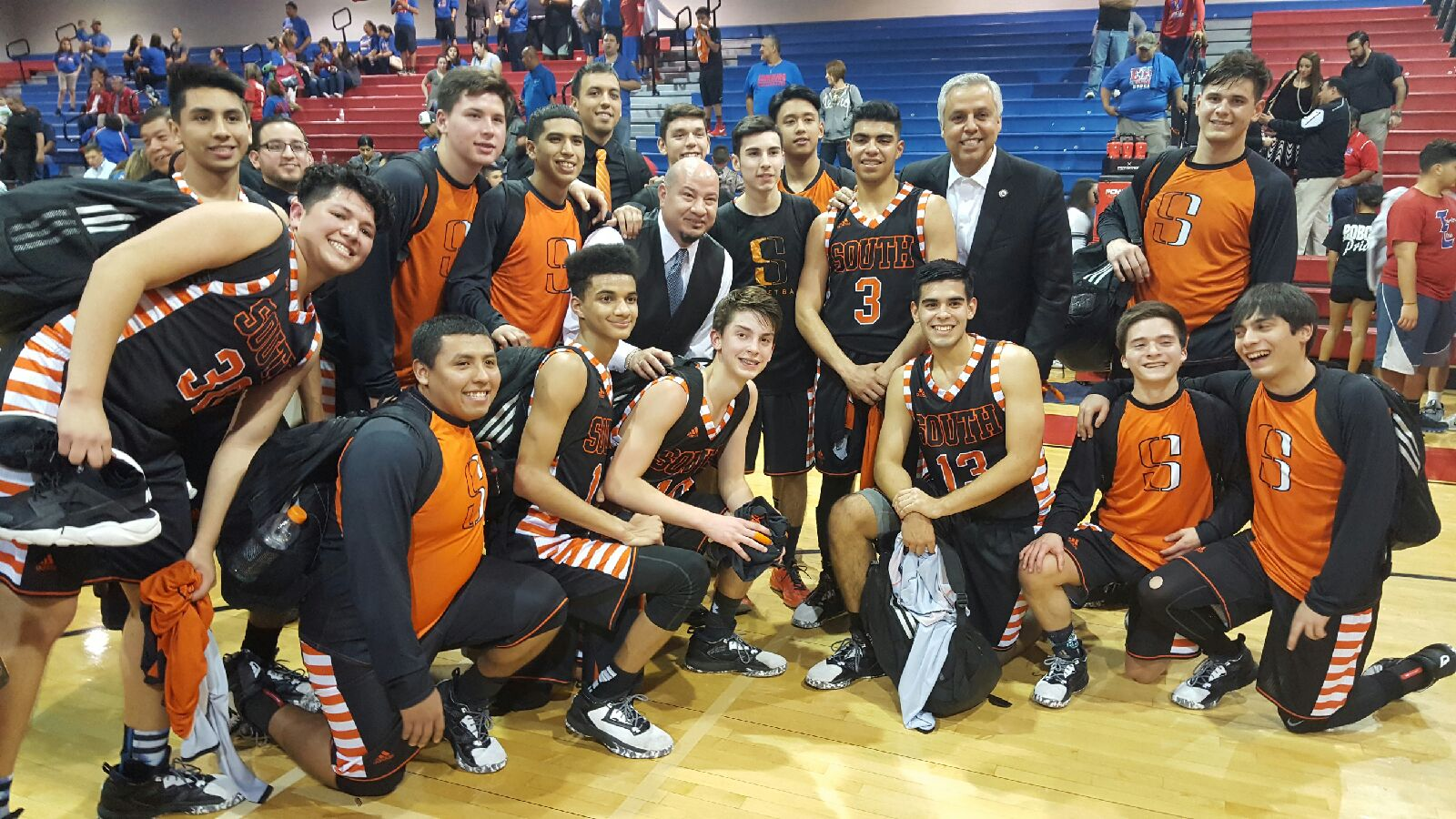 Harlingen South Boys Basketball Team Named 32-6A Bi-District Champions