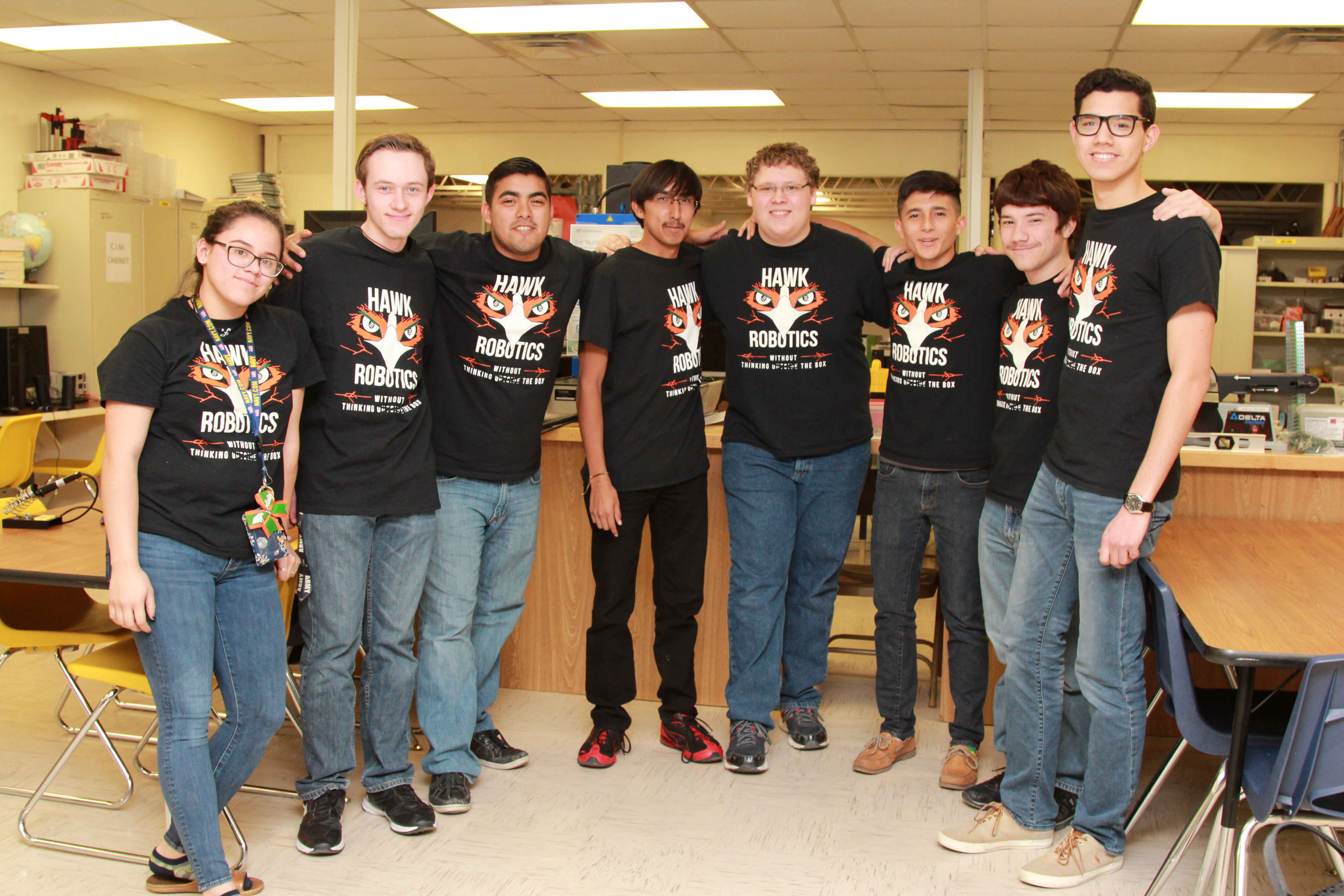HHSS Skeeterbots receive $5,000 grant in National Ford STEM competition