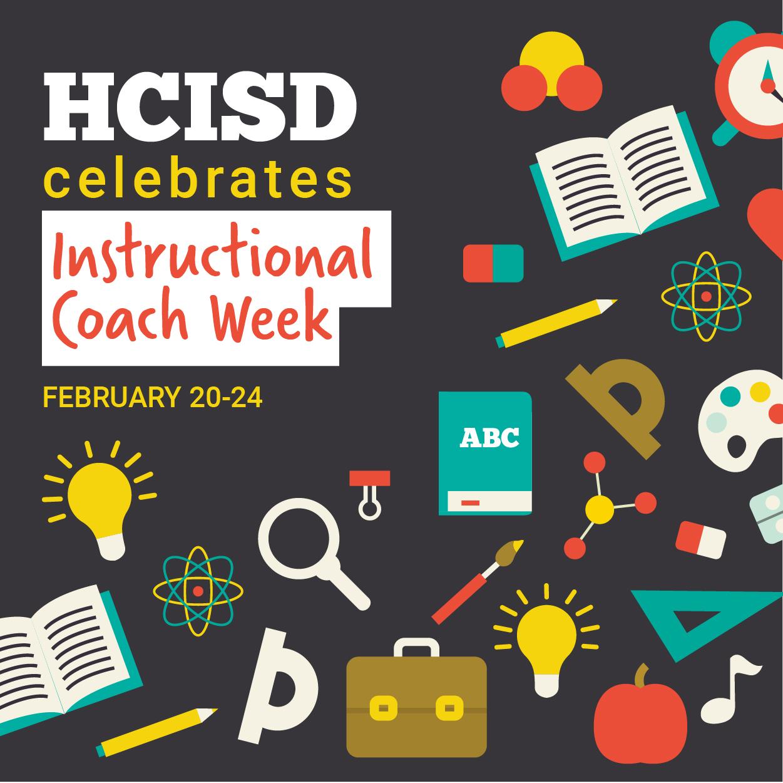 HCISD celebrates Instructional Coach Week