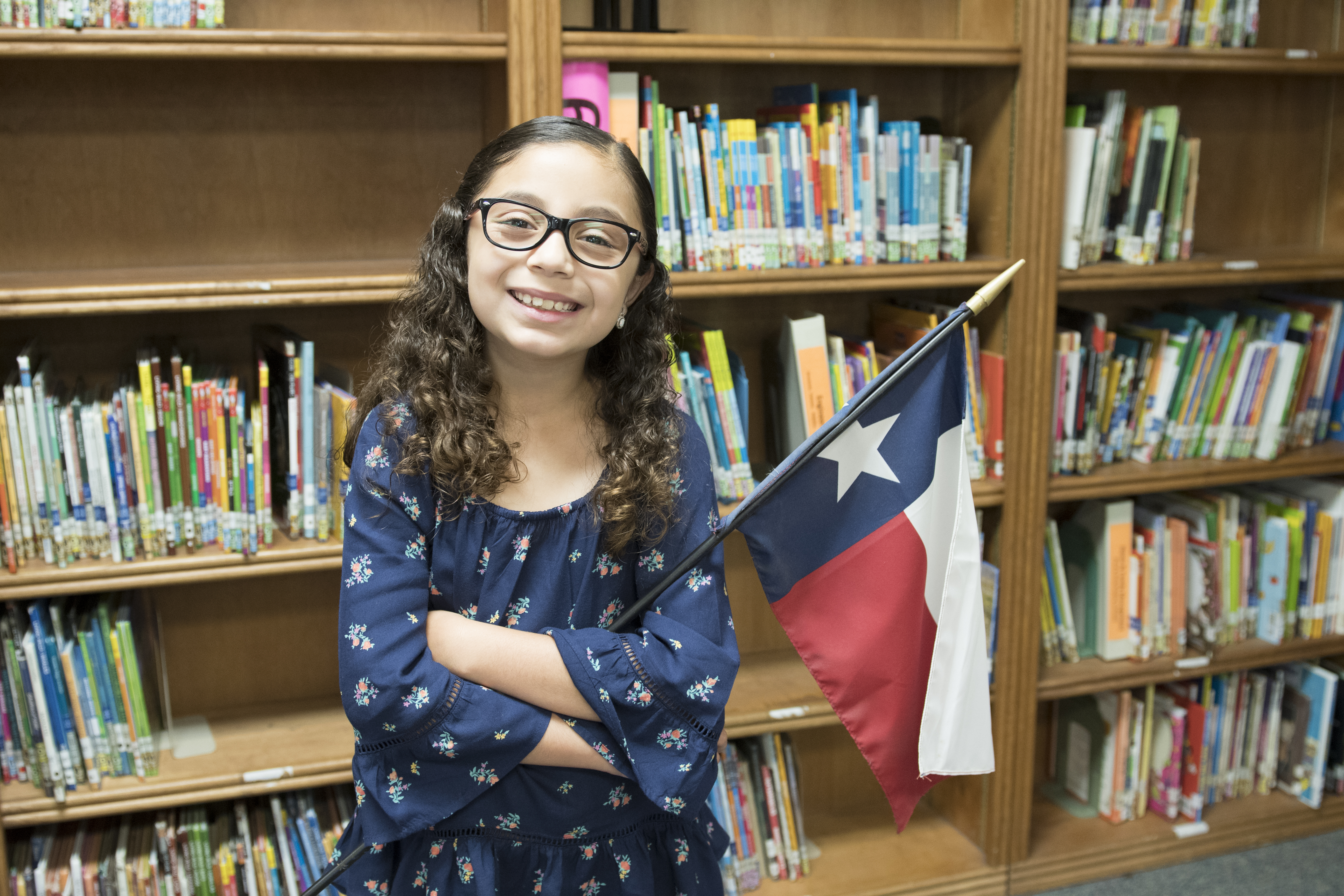 Stuart Place third-grader wins regional Take Care of Texas Art Contest