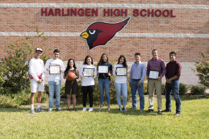 Cardinals recognized as THSCA Academic All-State athletes