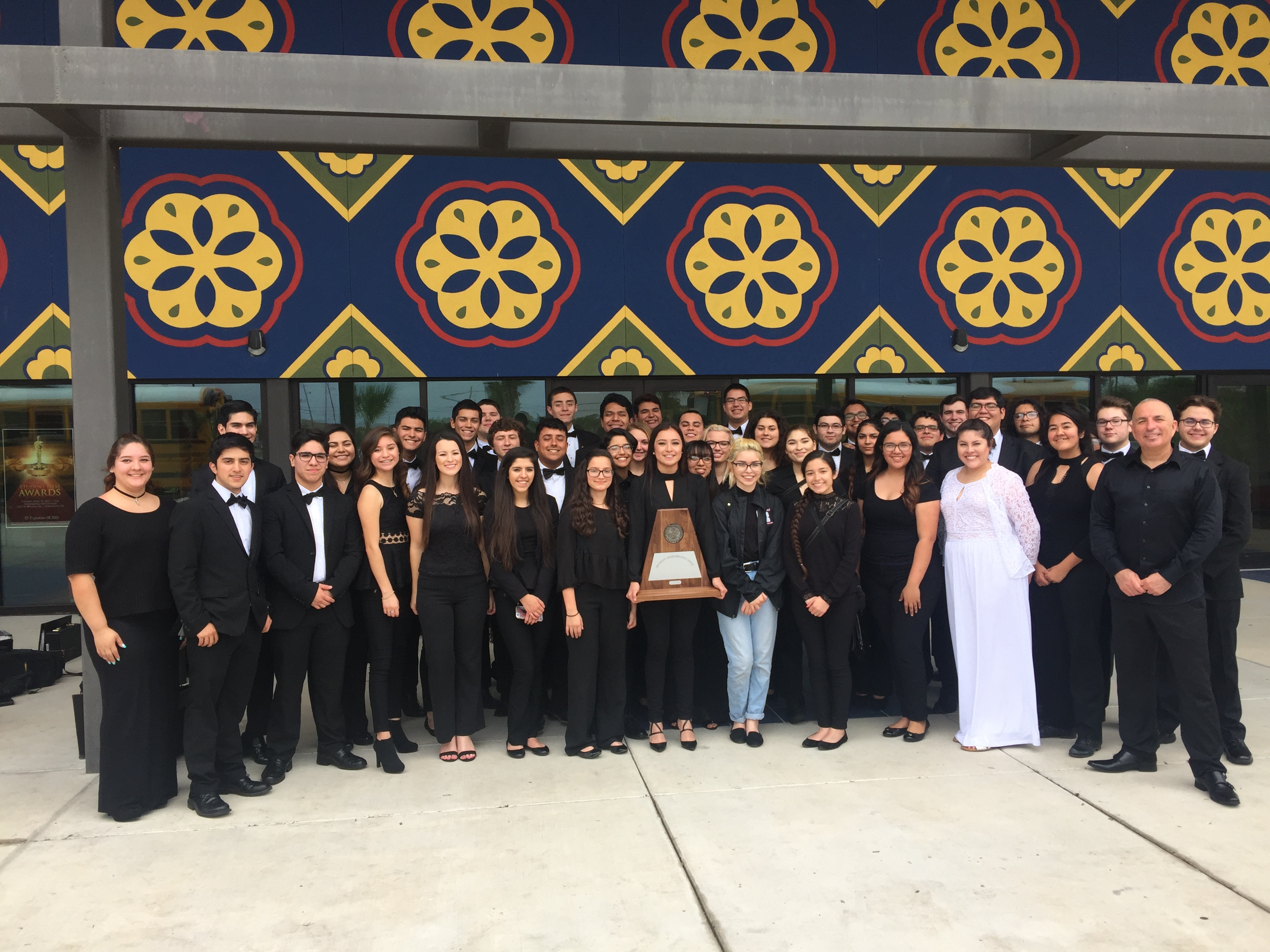 HHS Honors Band on 20-year UIL Sweepstakes streak