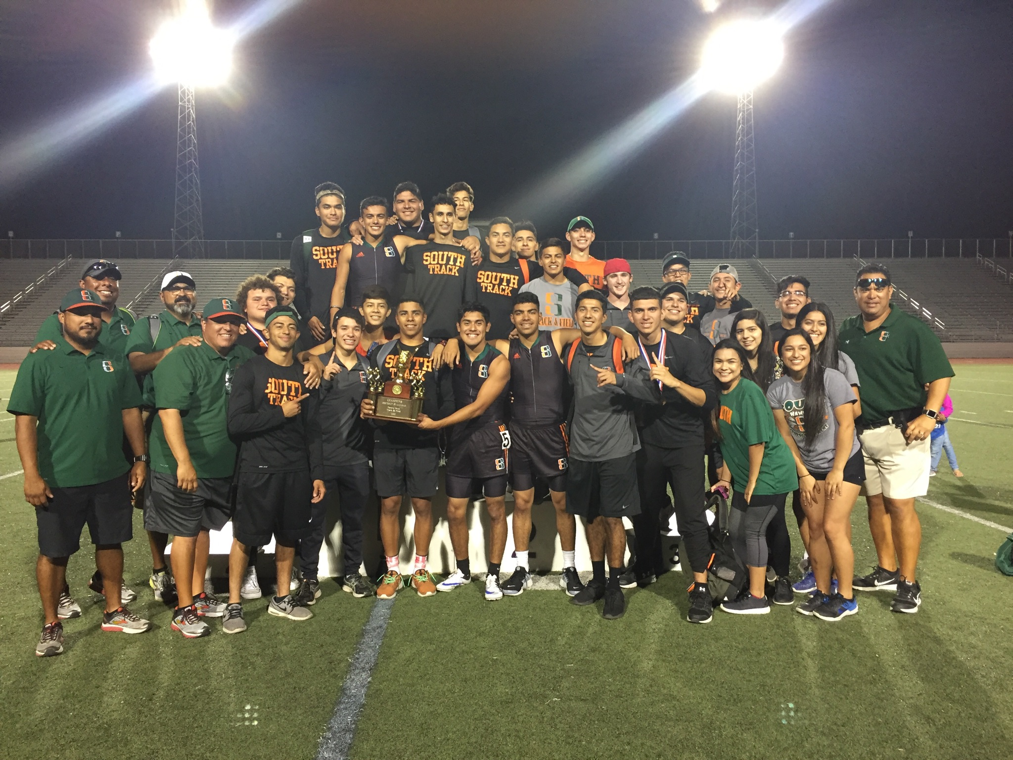 South track wins District Championship