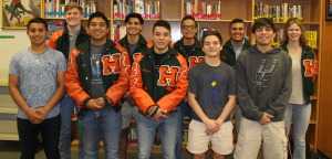 Hawk athletes named to THSCA Academic All-State Team