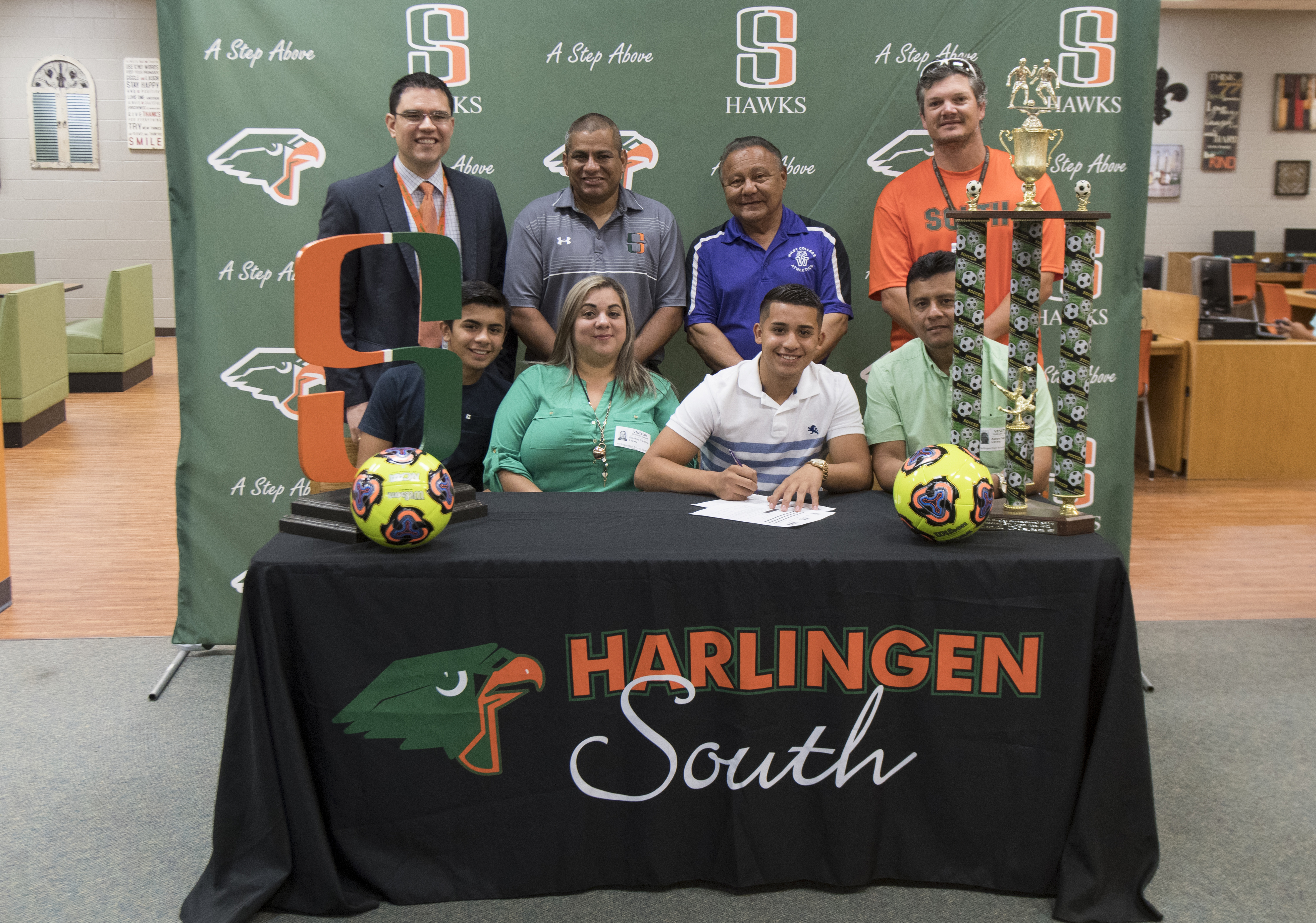 Hawk athlete signs to play soccer at Wiley College