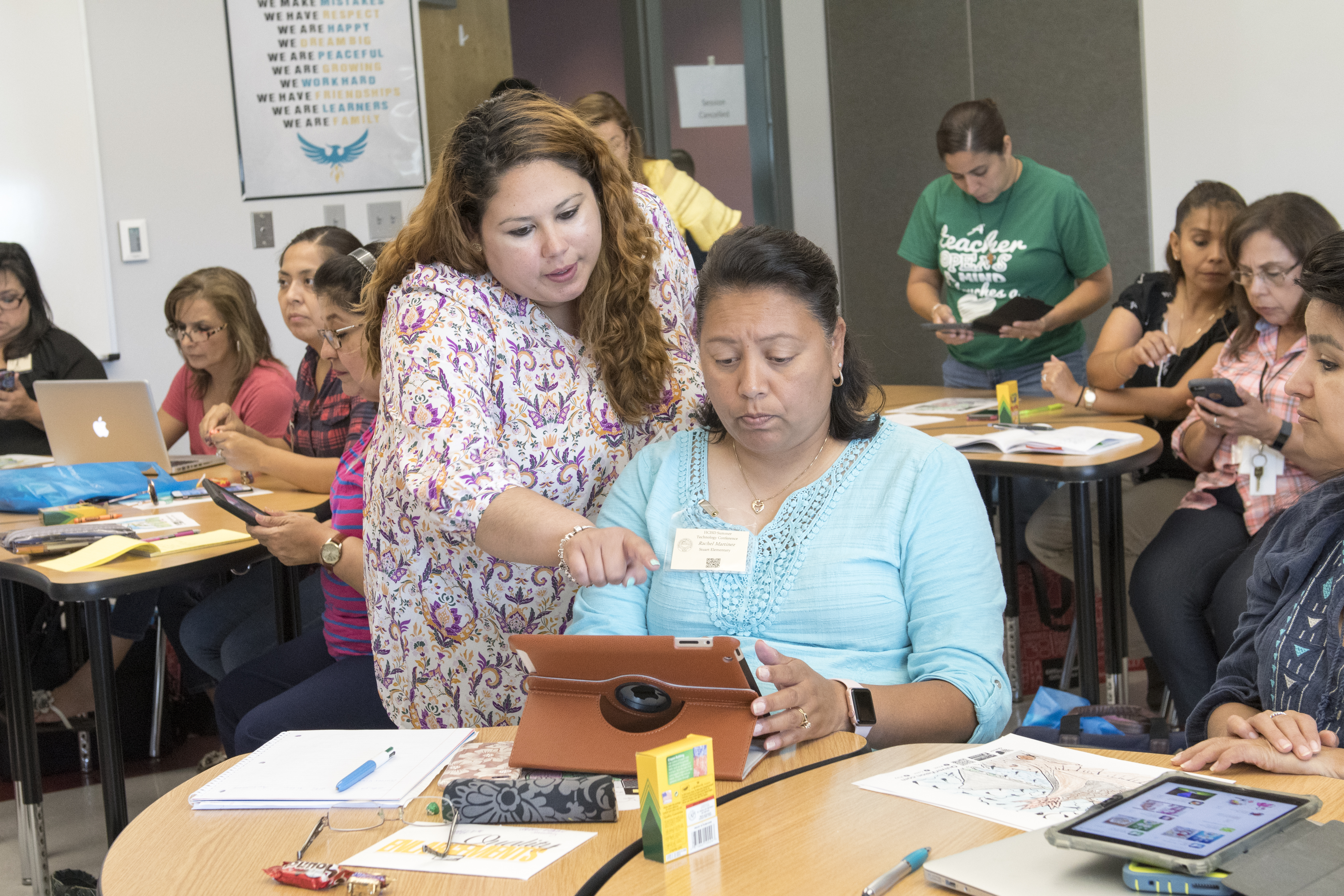 HCISD hosts first Summer Technology Conference