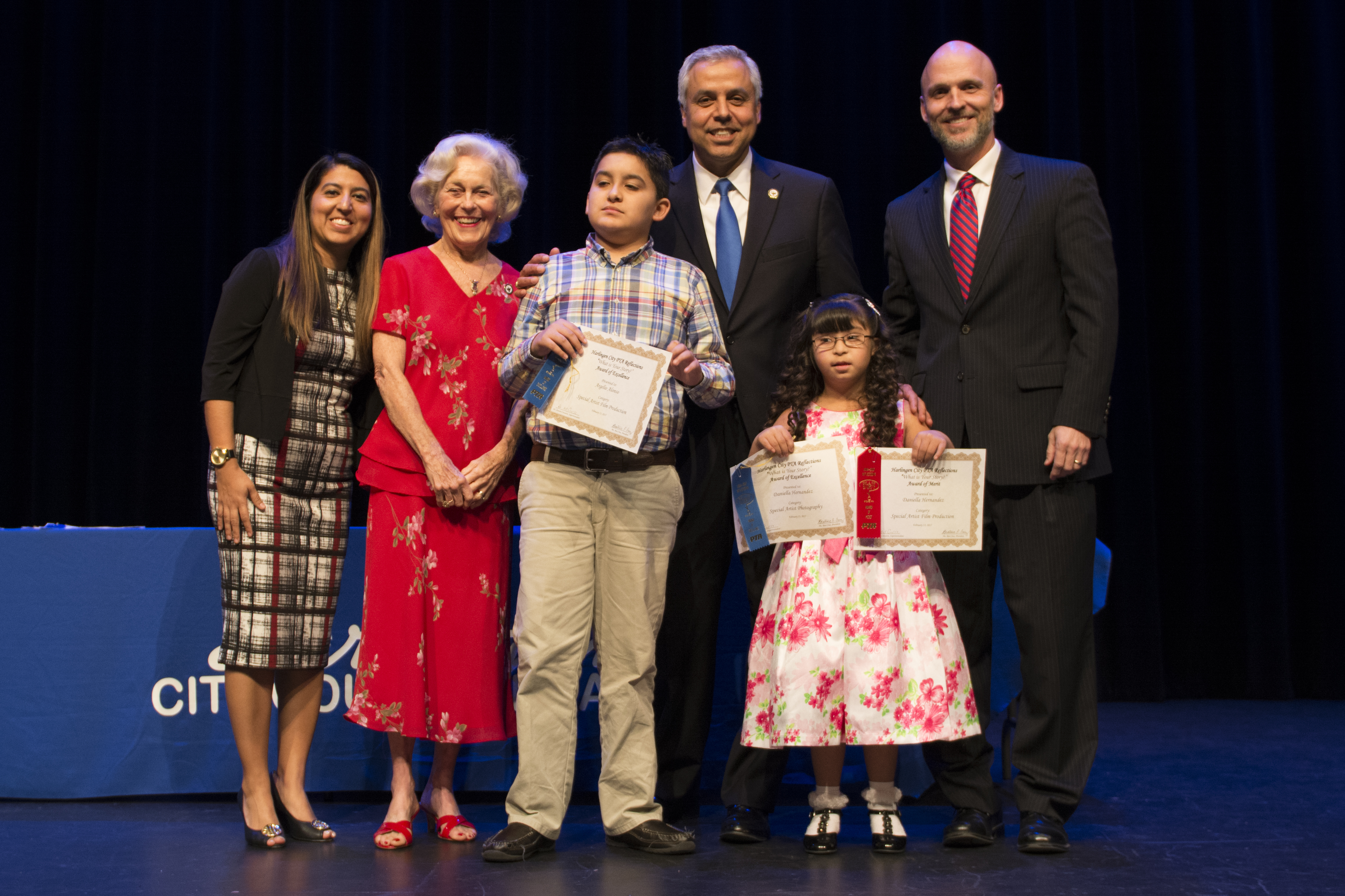 Texas PTA recognizes Dr. Cavazos as 2017 Superintendent of the Year