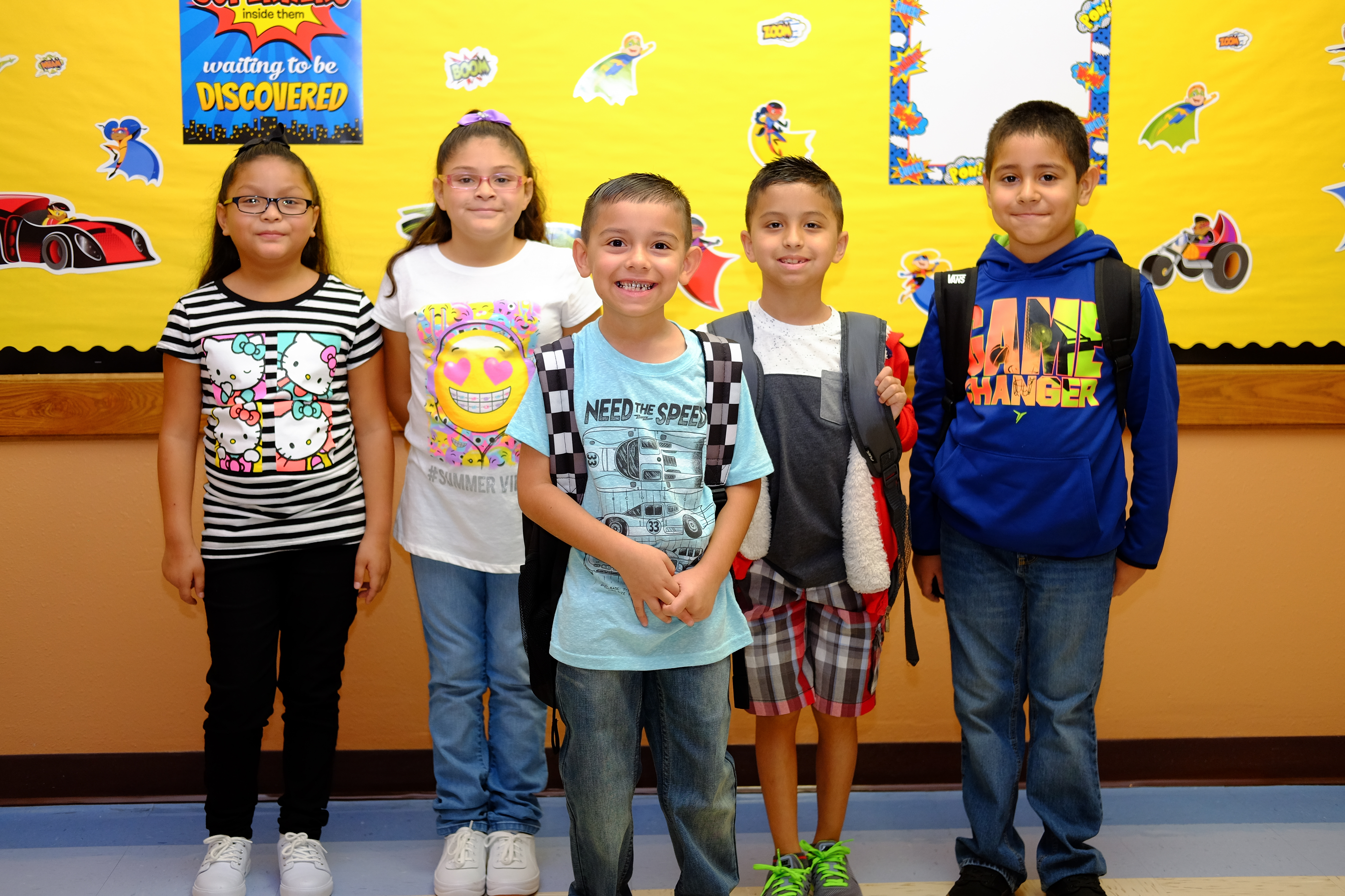 HCISD welcomes students to 2017-2018 school year