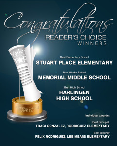 HCISD takes multiple honors in Reader's Choice Awards