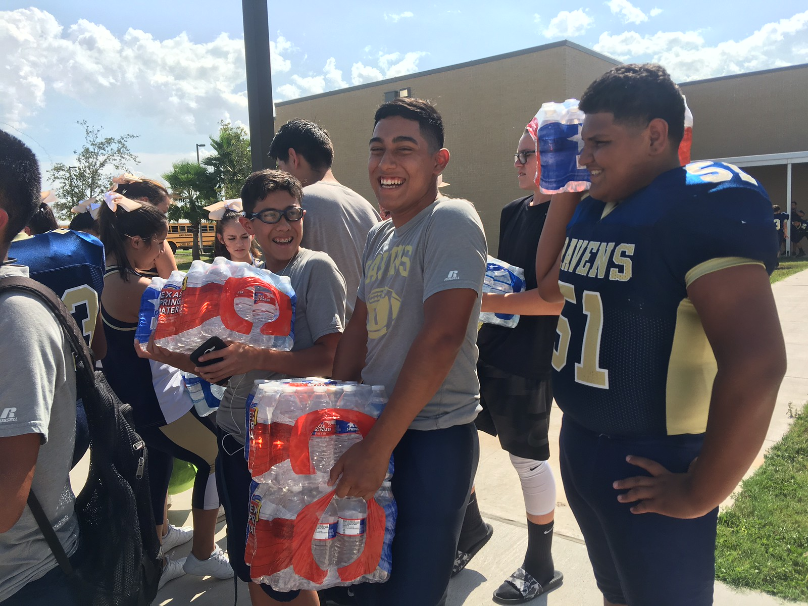 HCISD and Habitat for Humanity spring to action to help hurricane relief efforts