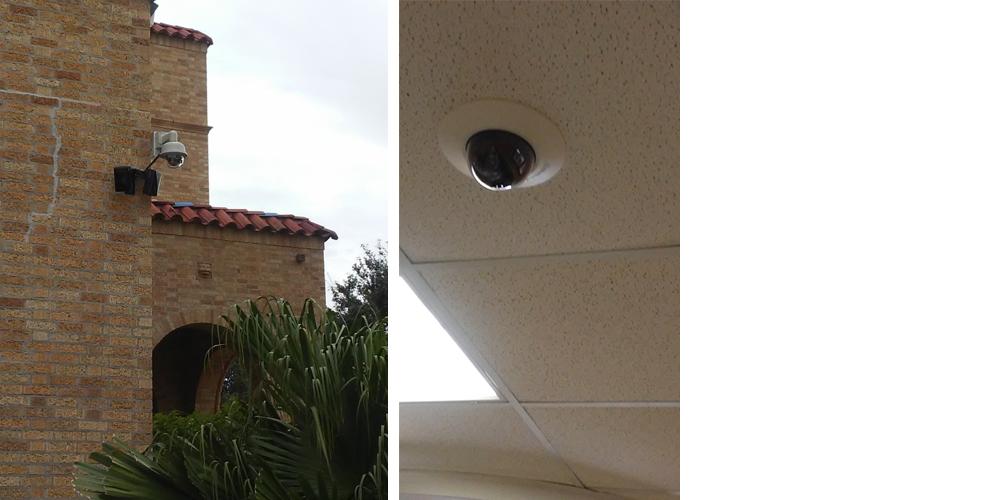 Middle School Surveillance Cameras
