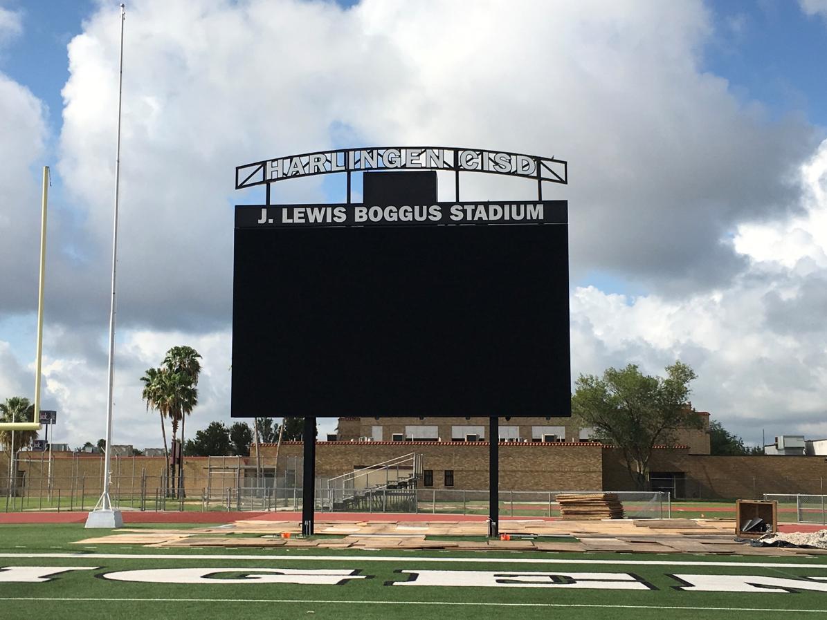 Boggus Stadium Scoreboard