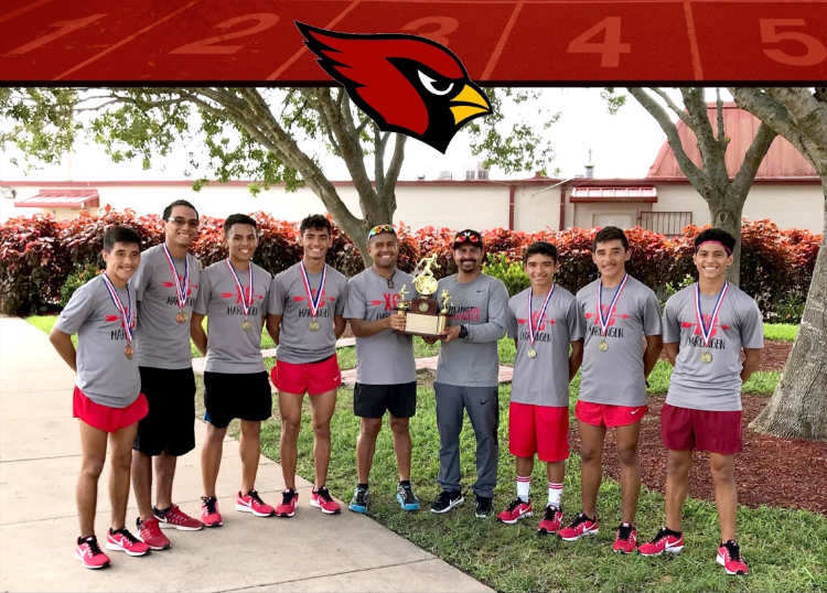 HHS Boys Cross Country team wins District Championship