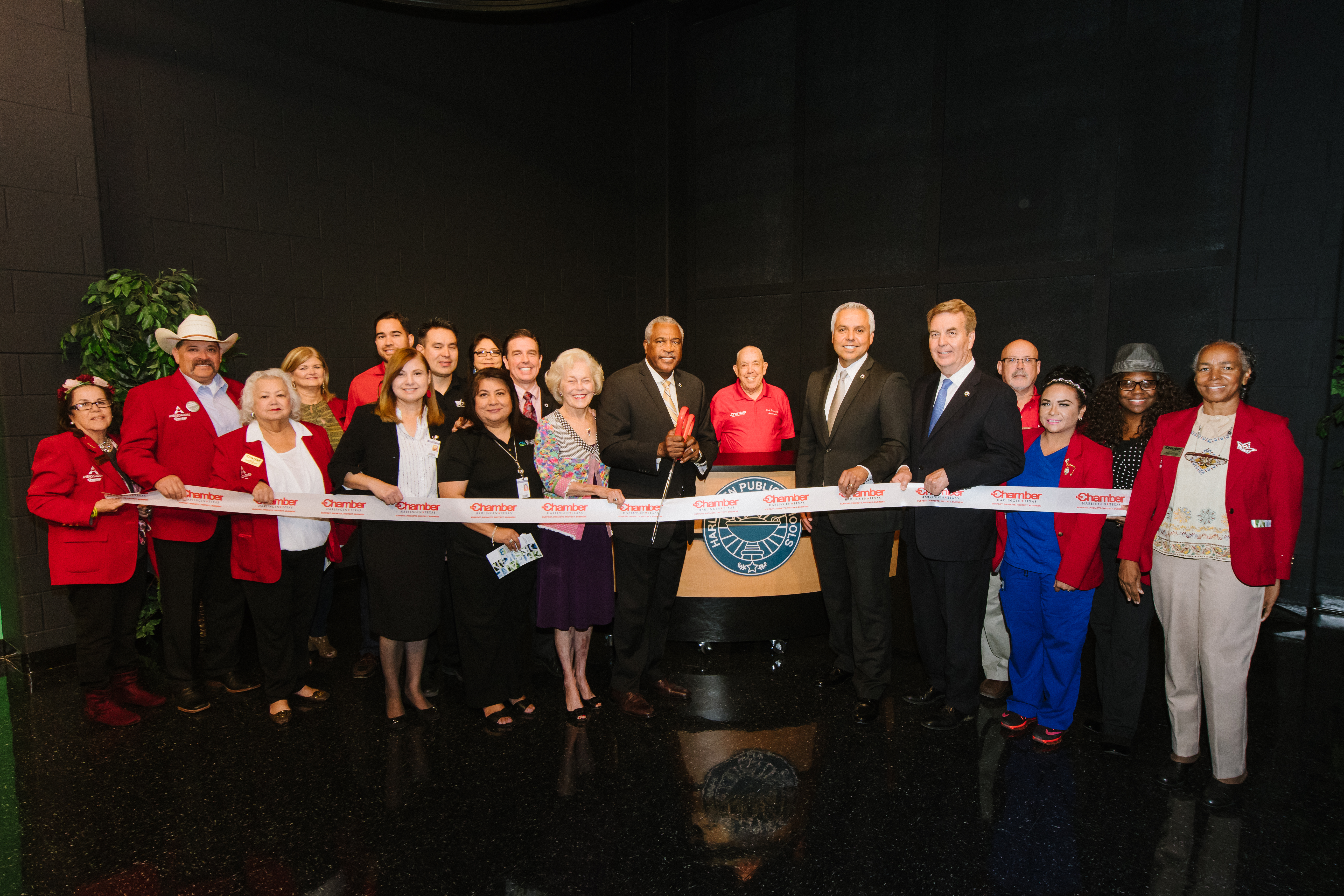 HCISD celebrates ribbon cutting for Media Arts and Communications Academy