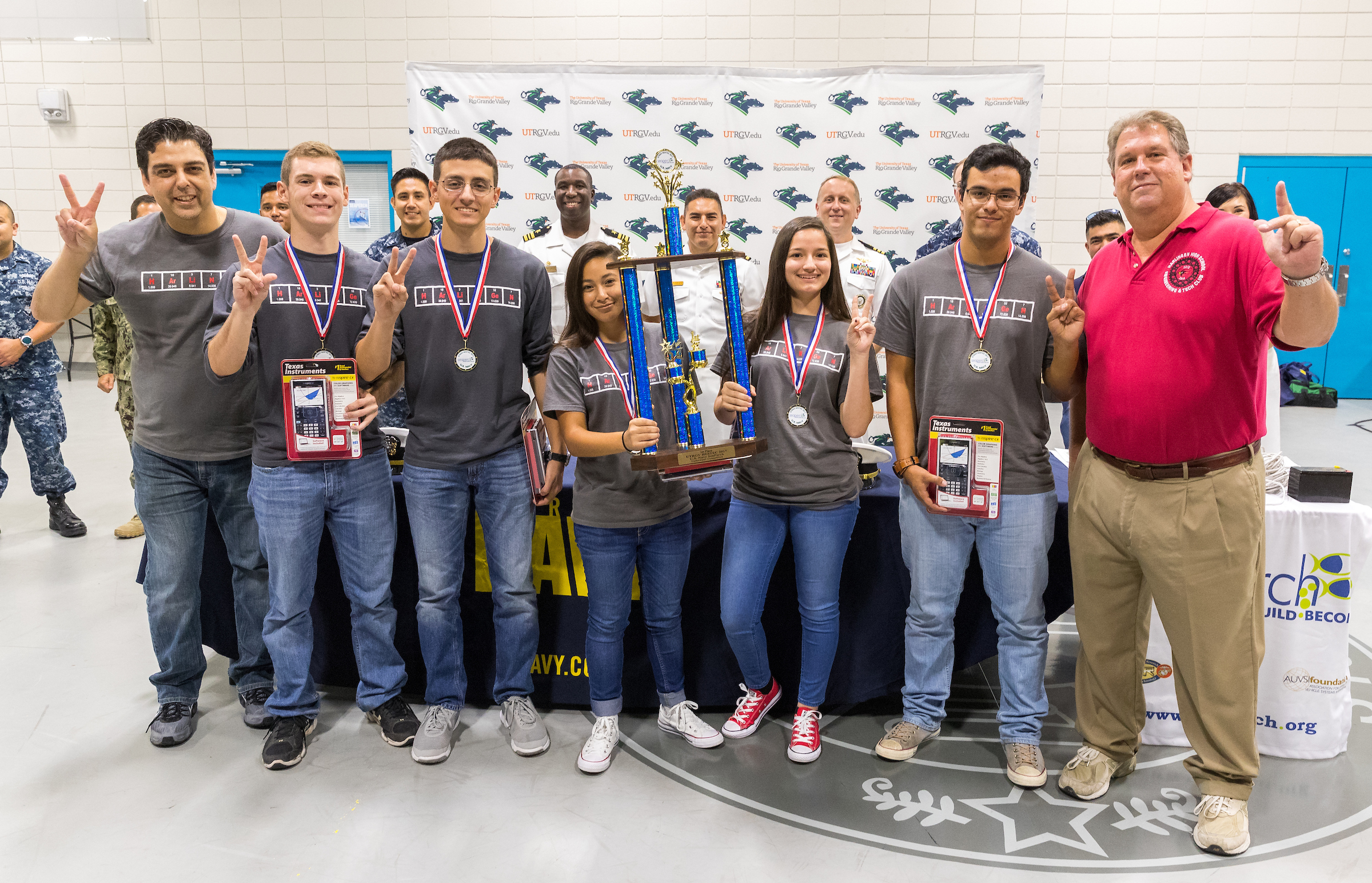 HHS earns top honors at Navy SeaPerch Challenge