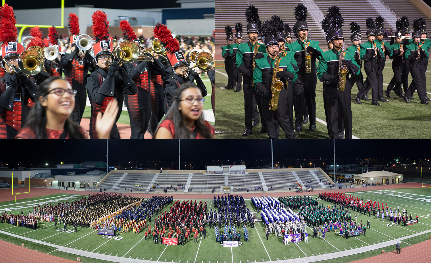 HHS and South bands earn Division 1 ratings at 75th Pigskin Jubilee