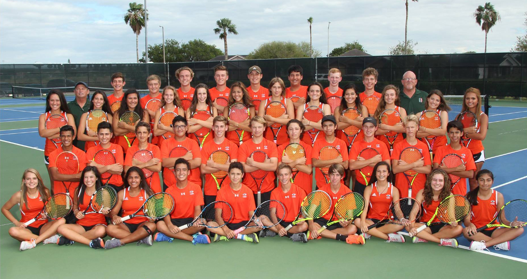 Harlingen South Tennis advancing to Regional Semifinals