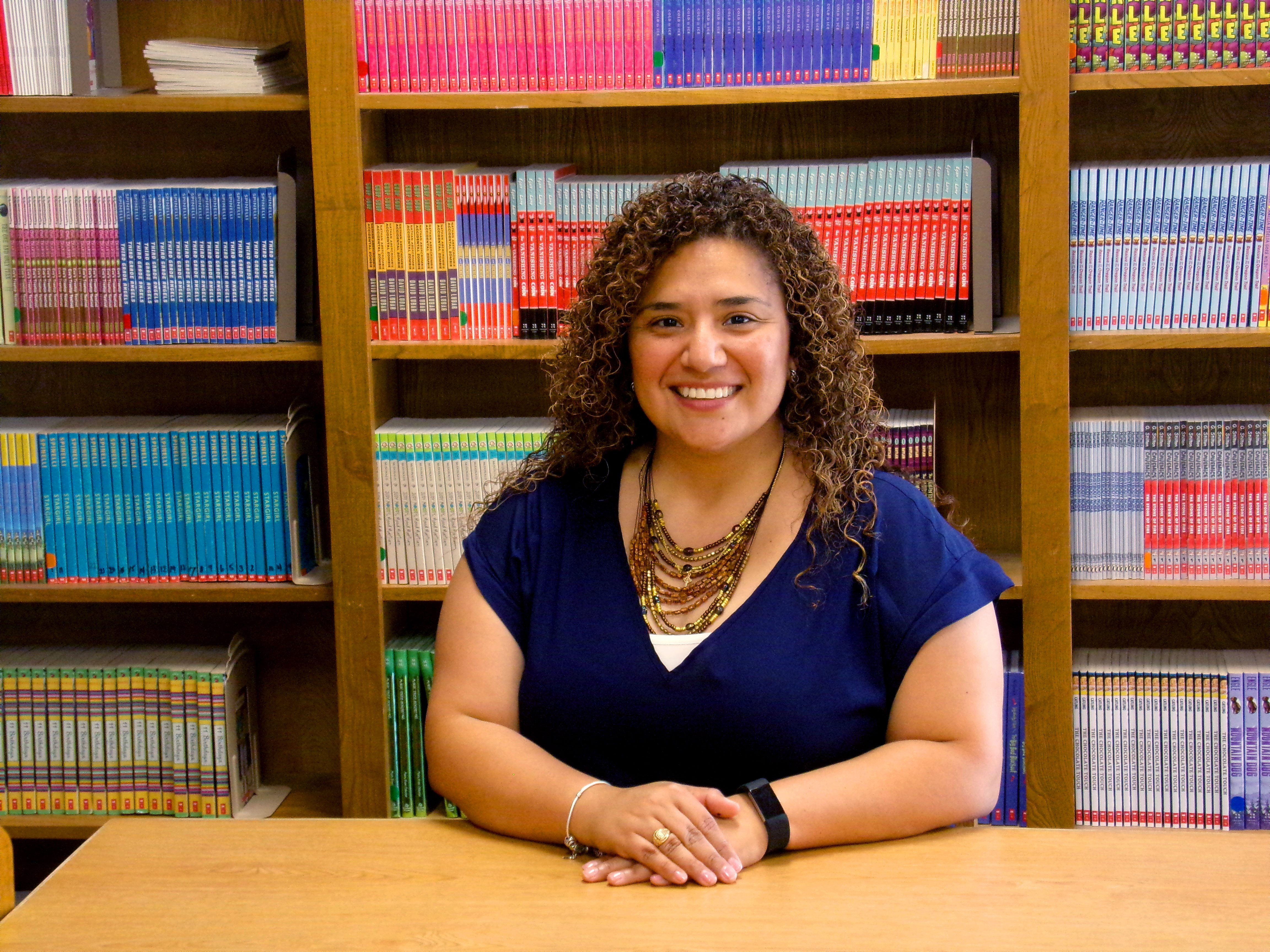 Cerelia Diaz recognized as 2017 National Student Teacher of the Year