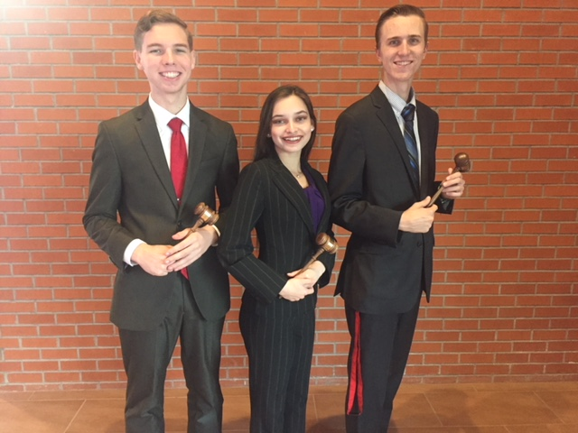 Speech, Drama, and Debate competitors advance to State Congress Meet