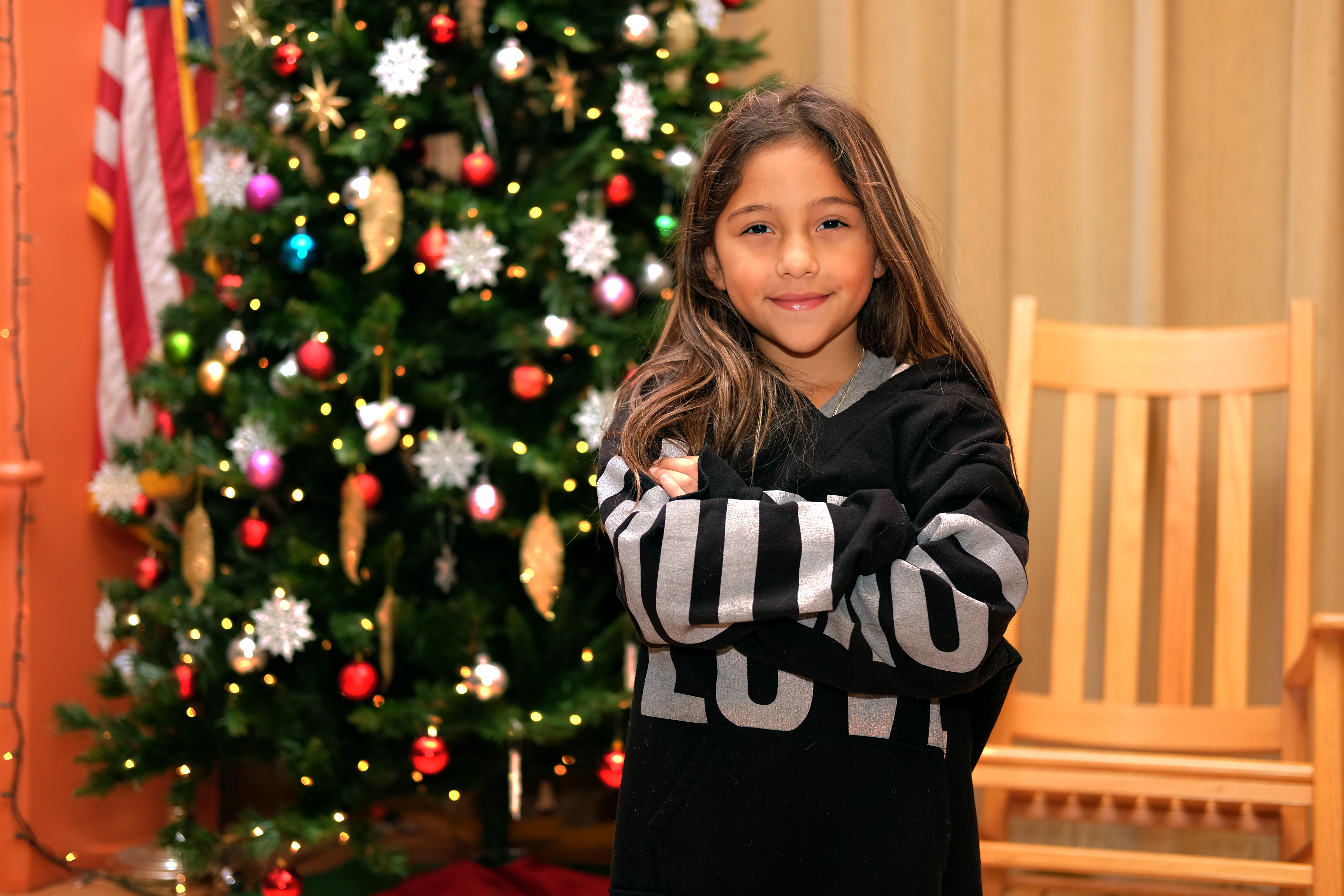 Rodriguez Elementary first-grader wins Region One Holiday Art Contest