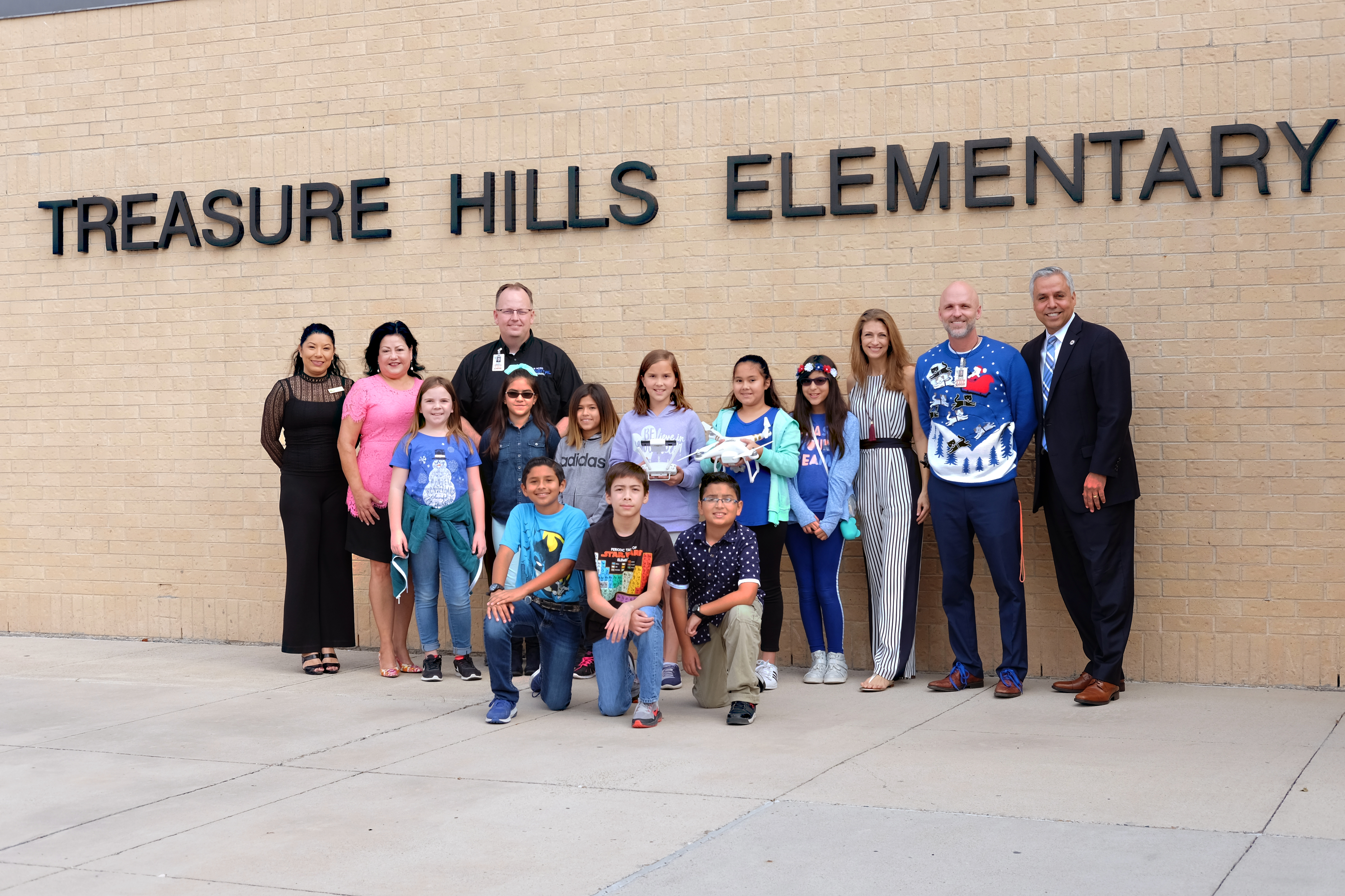 Treasure Hills TV Club awarded Innovative Teaching Grant