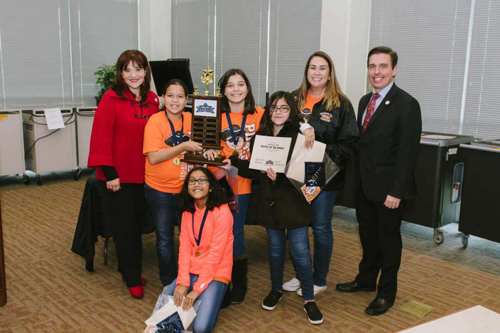 Elementary Winners - Treasure Hills Elementary