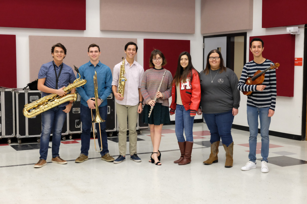 HHS_AllState_Musicians