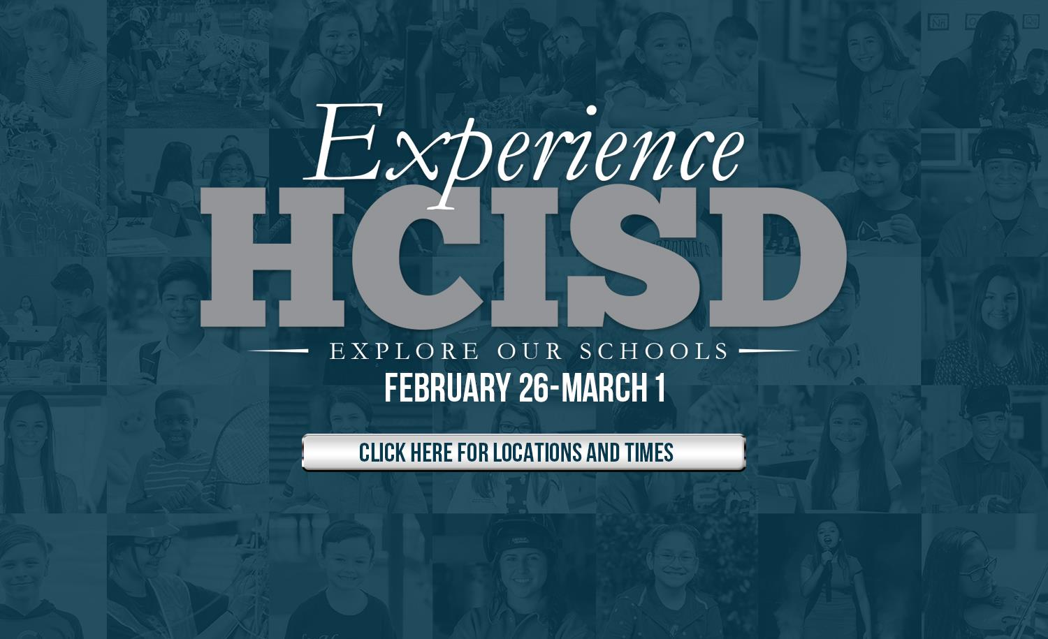 Experience HCISD: Explore Our Schools