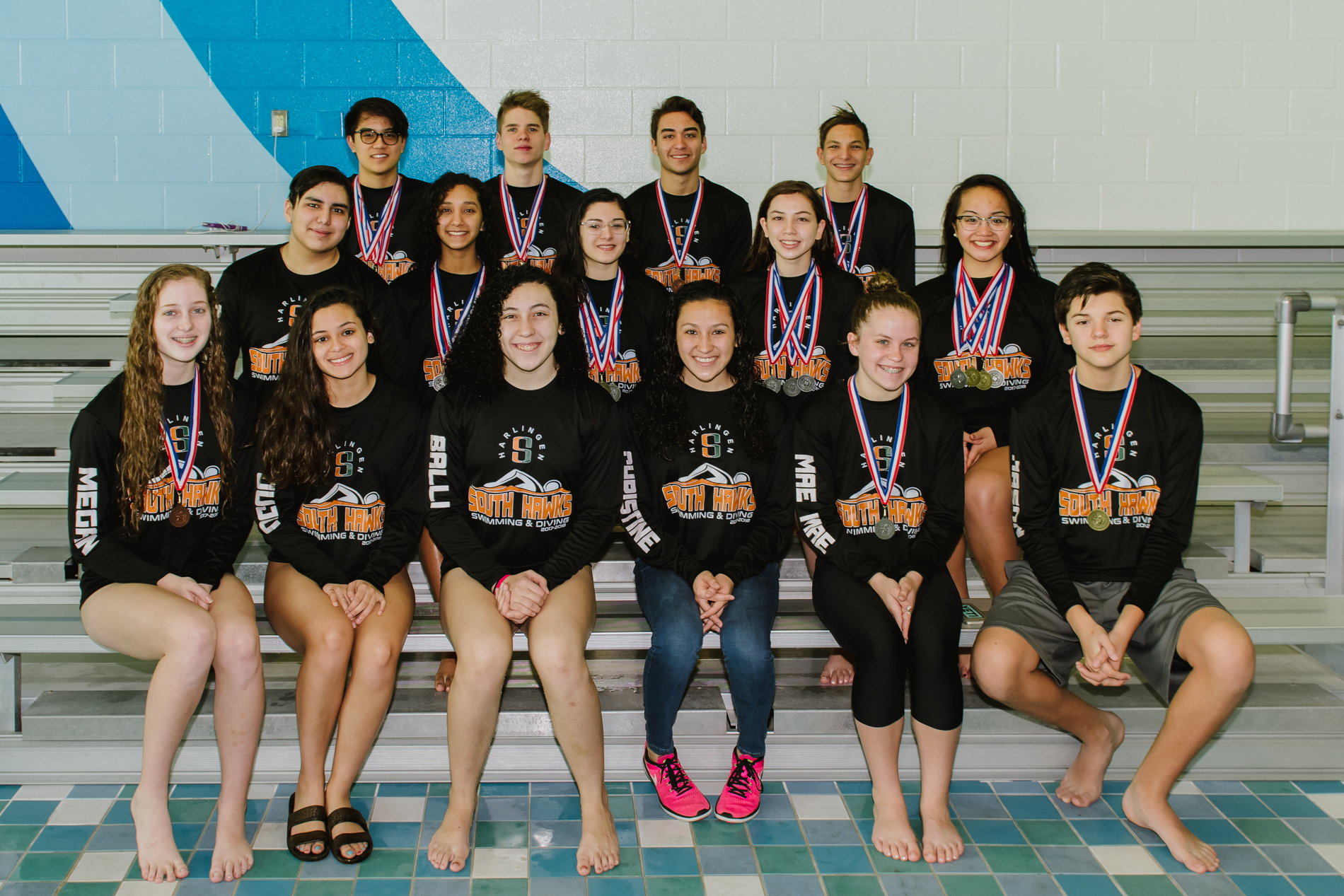 HS Swim Teams find success at District, competitors advance to Regionals