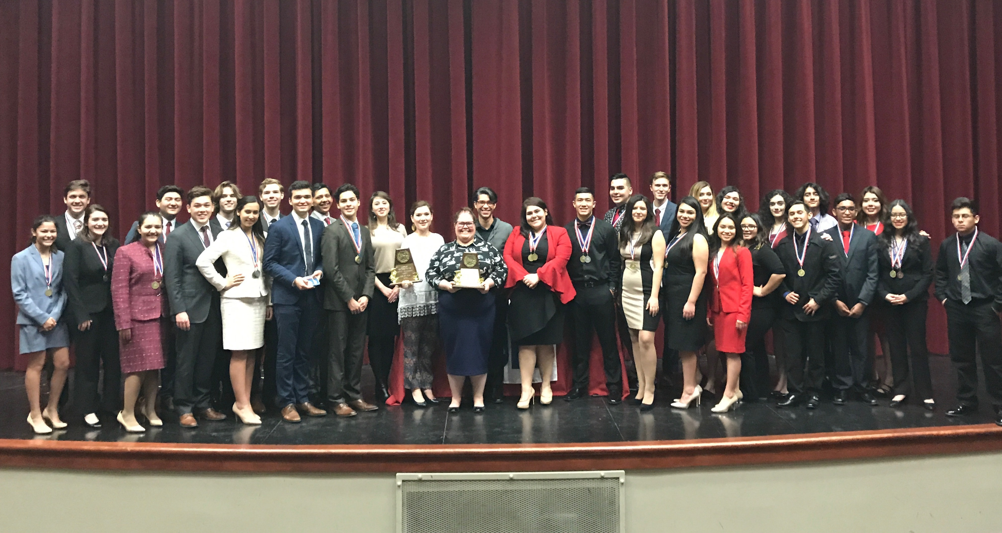HCISD » HHS and HHSS advance to Bi-district One Act Play contest
