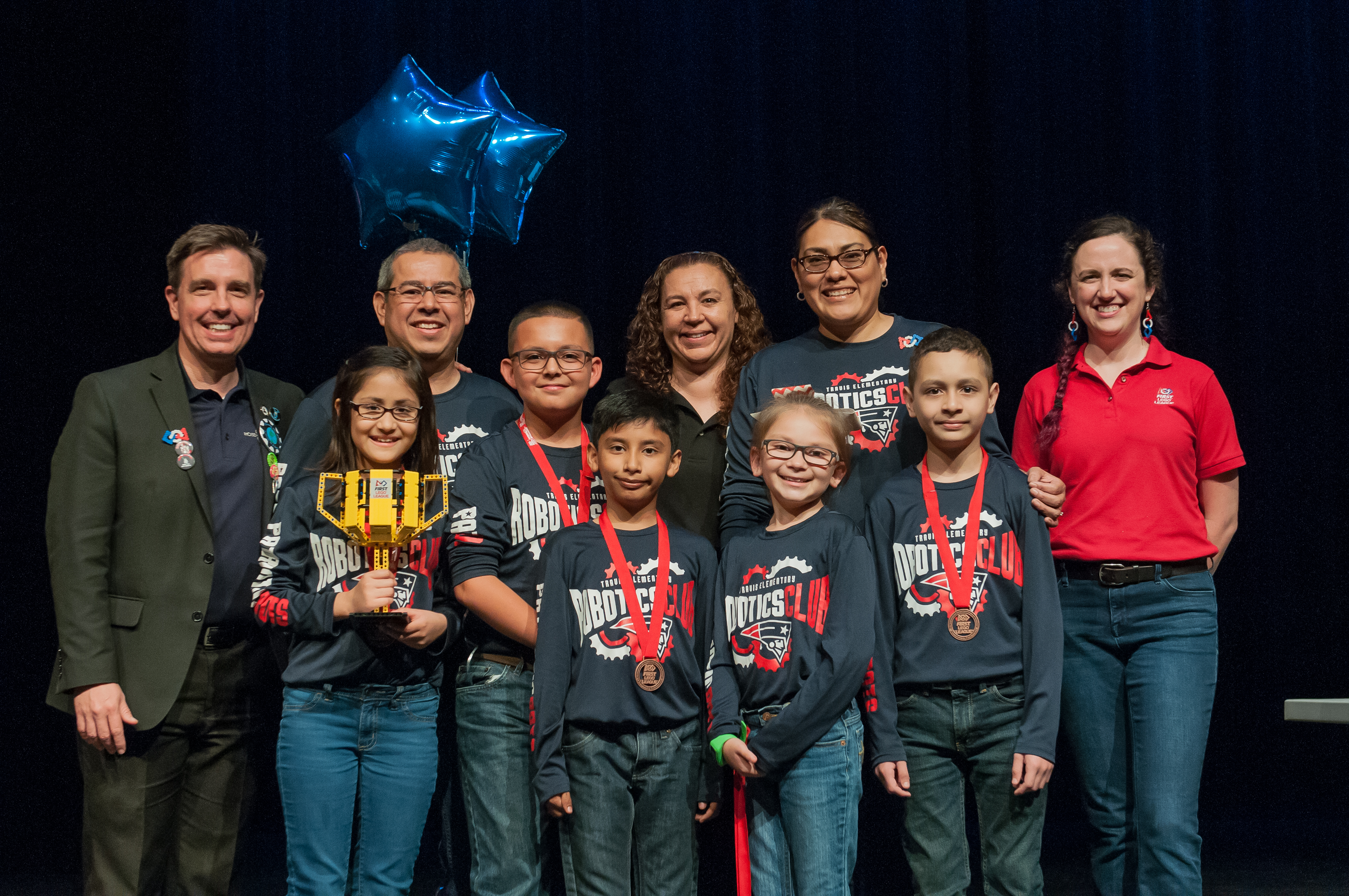 Travis robotics team advances to FIRST World Championship