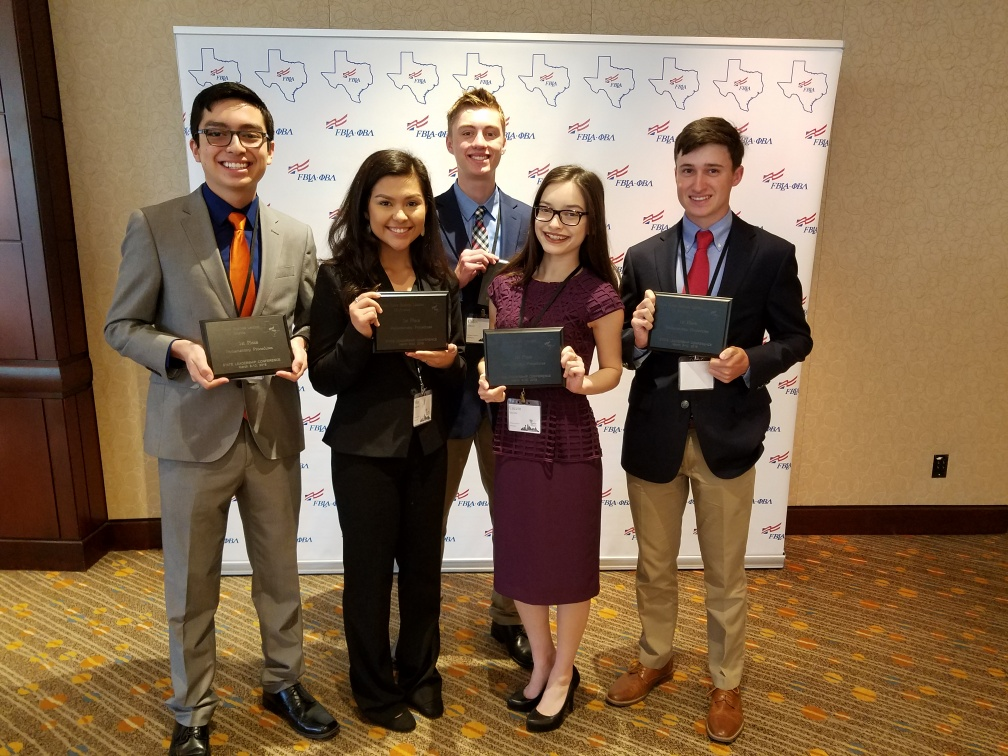 Harlingen South students qualify for national FBLA conference