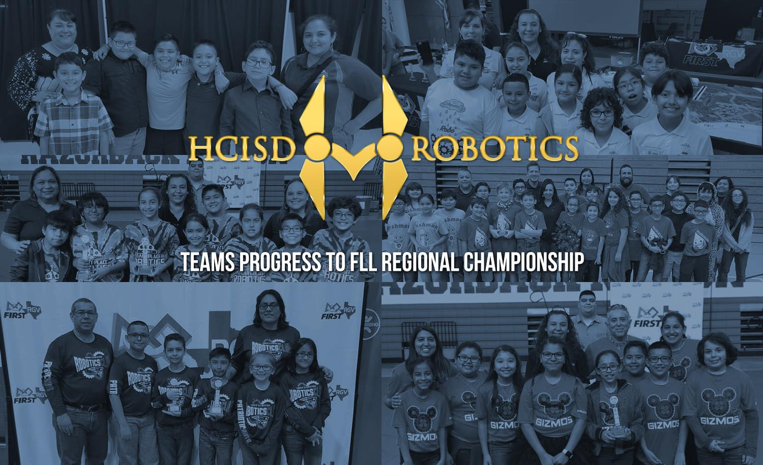 HCISD Robotics teams progress to FLL Regional Championship