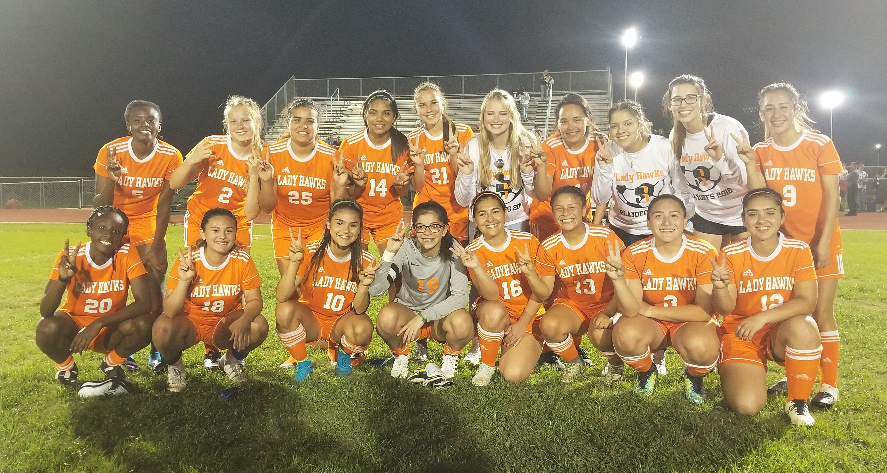 Lady Hawks Soccer takes Bi-District title
