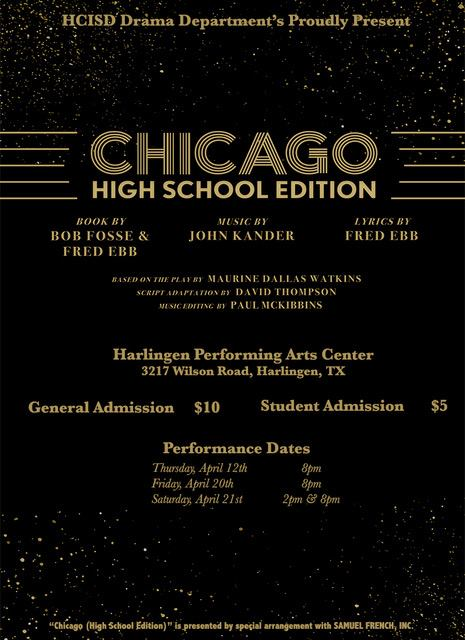 Three days only: Chicago – High School Edition