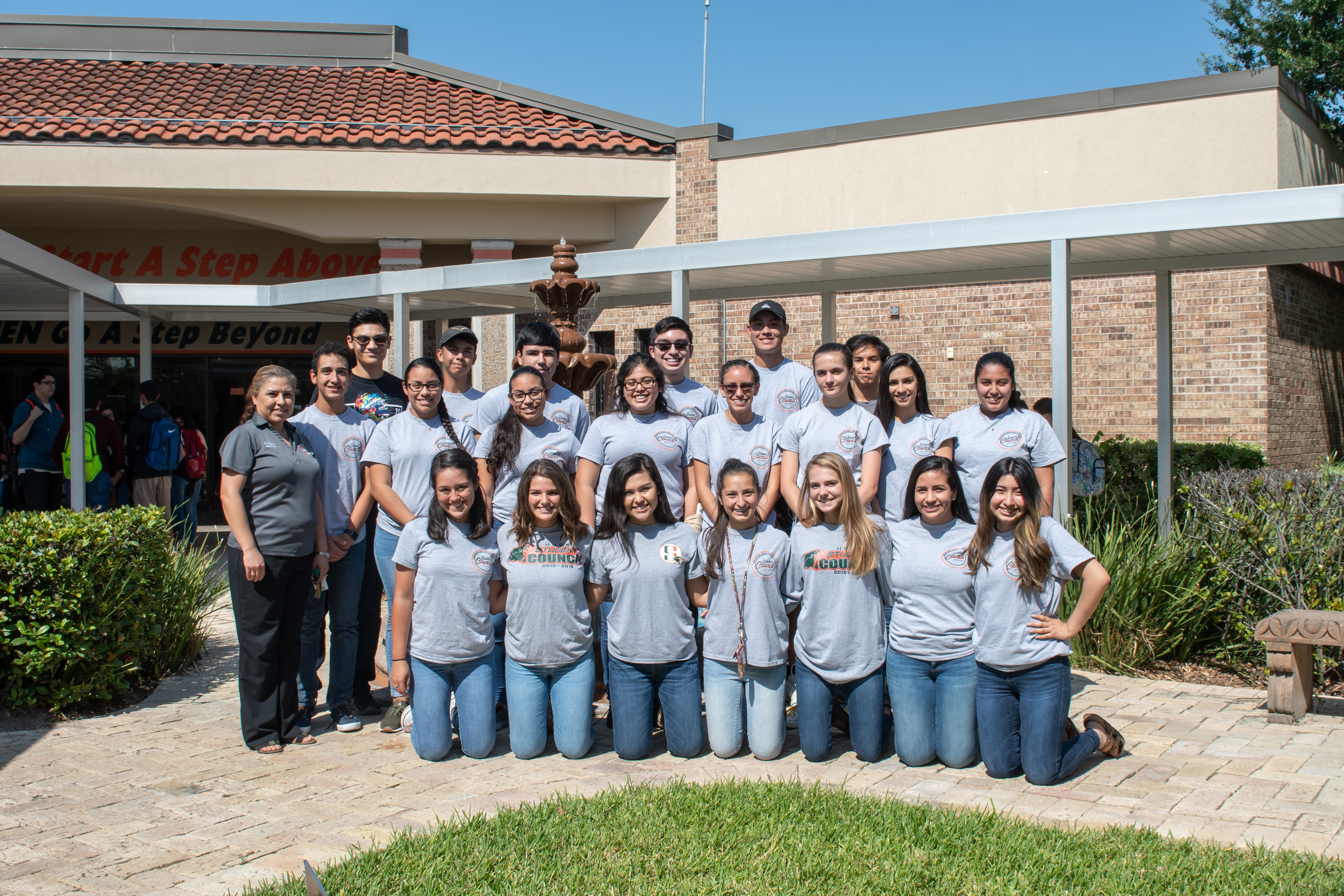 Hawk Student Council named a 2018 National Gold Council of Excellence