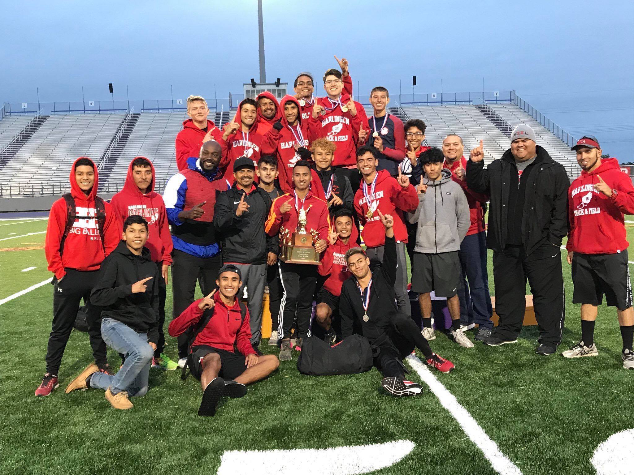 HHS Boys Track takes District Championship