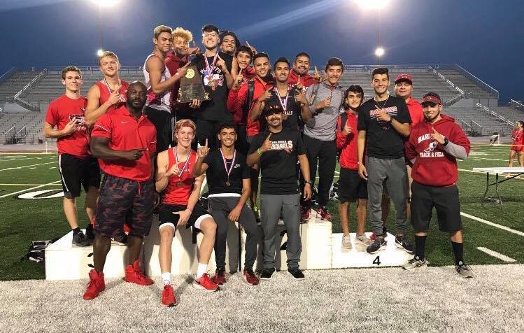 HHS boys track named Area Champs