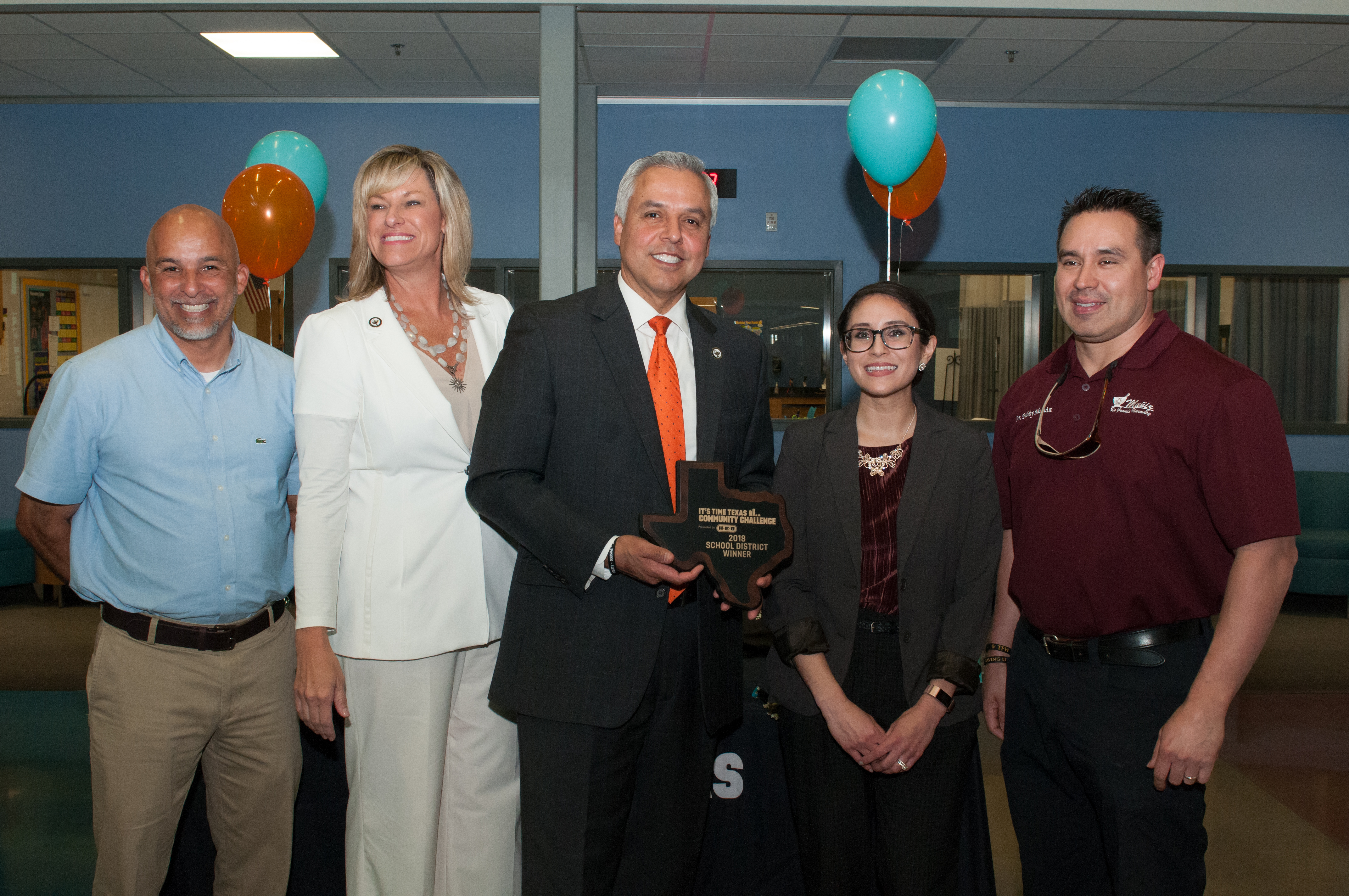 HCISD and City of Harlingen win big in It's Time Texas Community Challenge