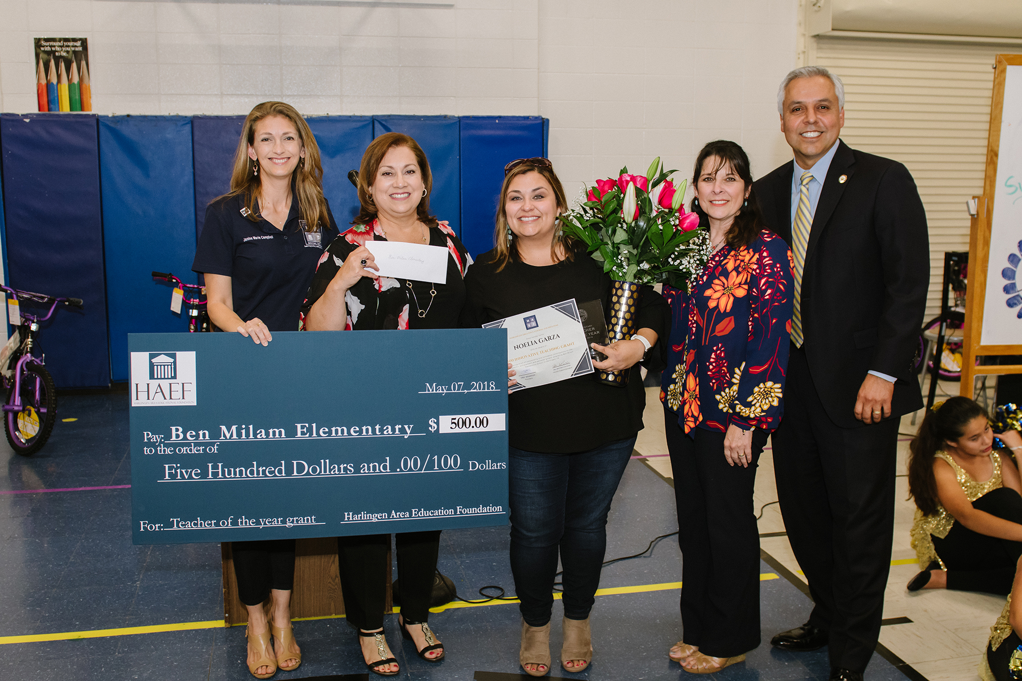 HCISD recognizes 2018 district teachers of the year