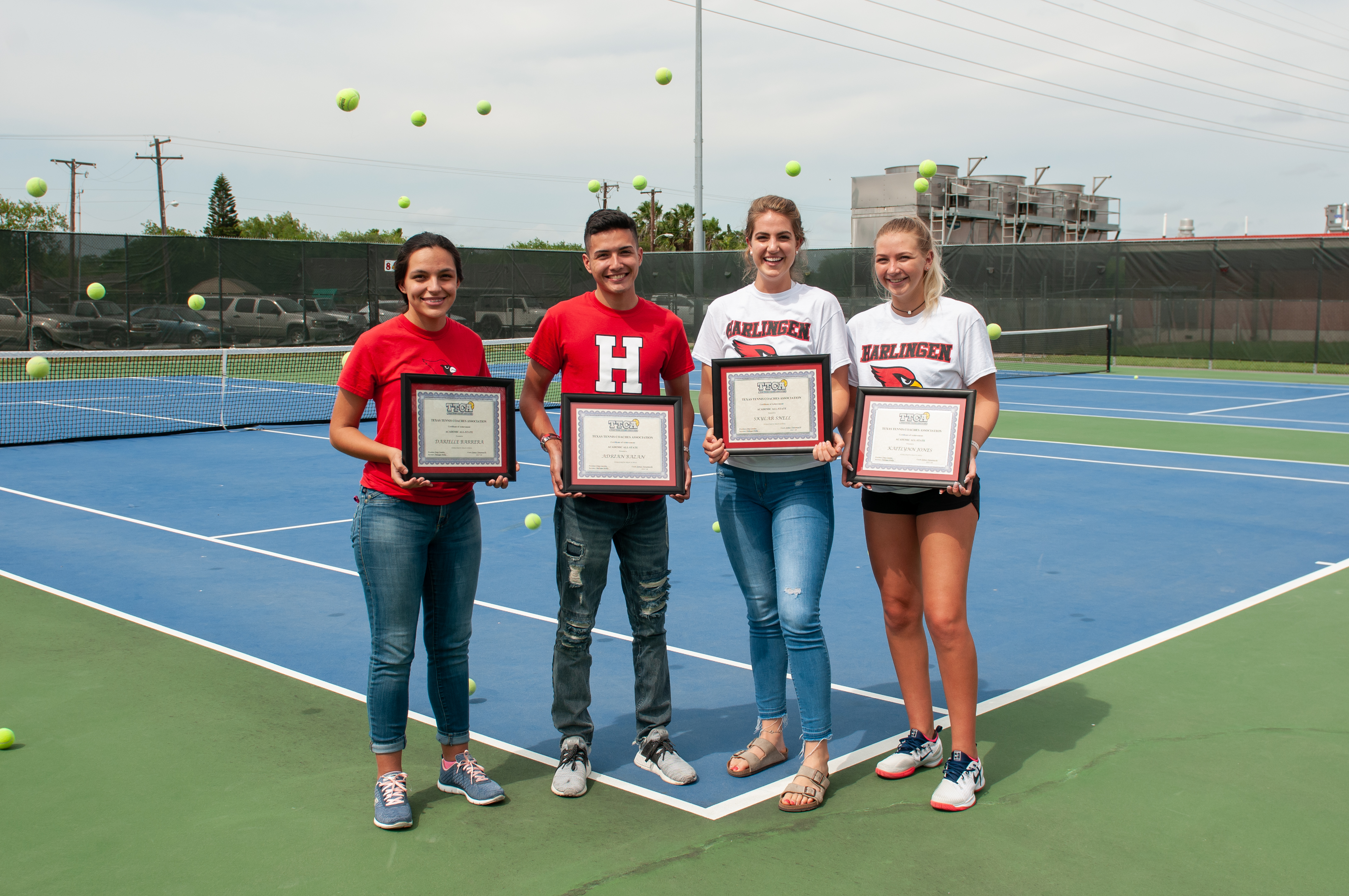 HHS athletes named to TTCA Academic All-State team